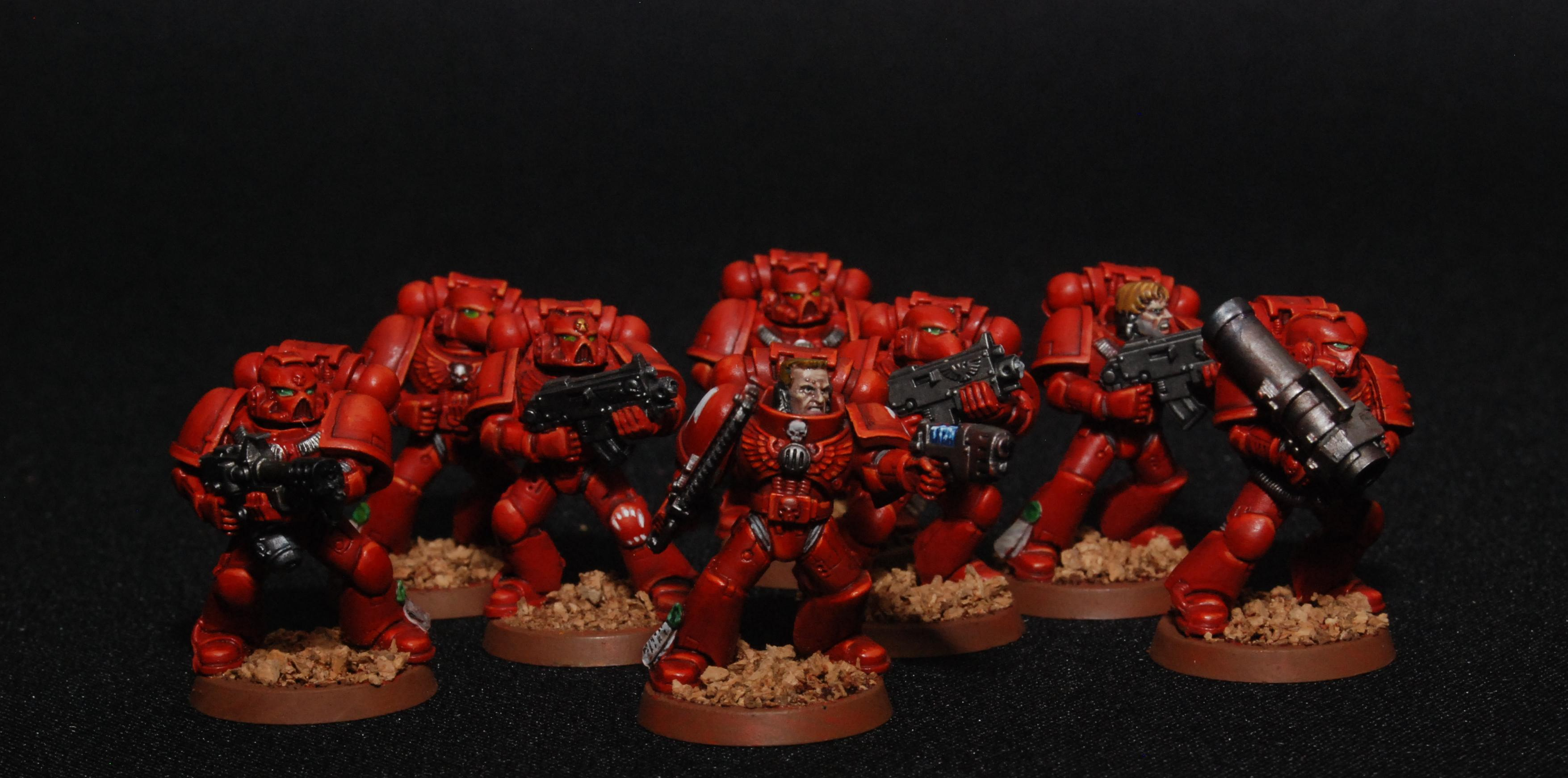 Blood Angels, Flesh Eaters, Space Marines, Successor Chapter