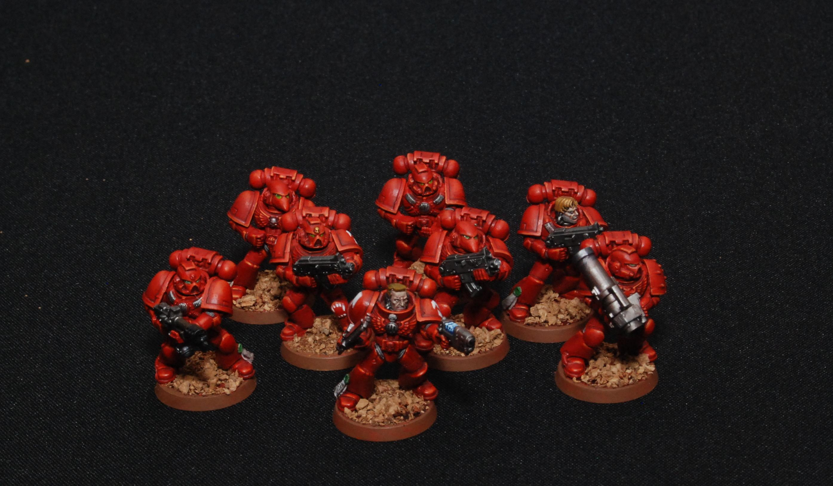 Blood Angels, Space Marines, Tactical Squad
