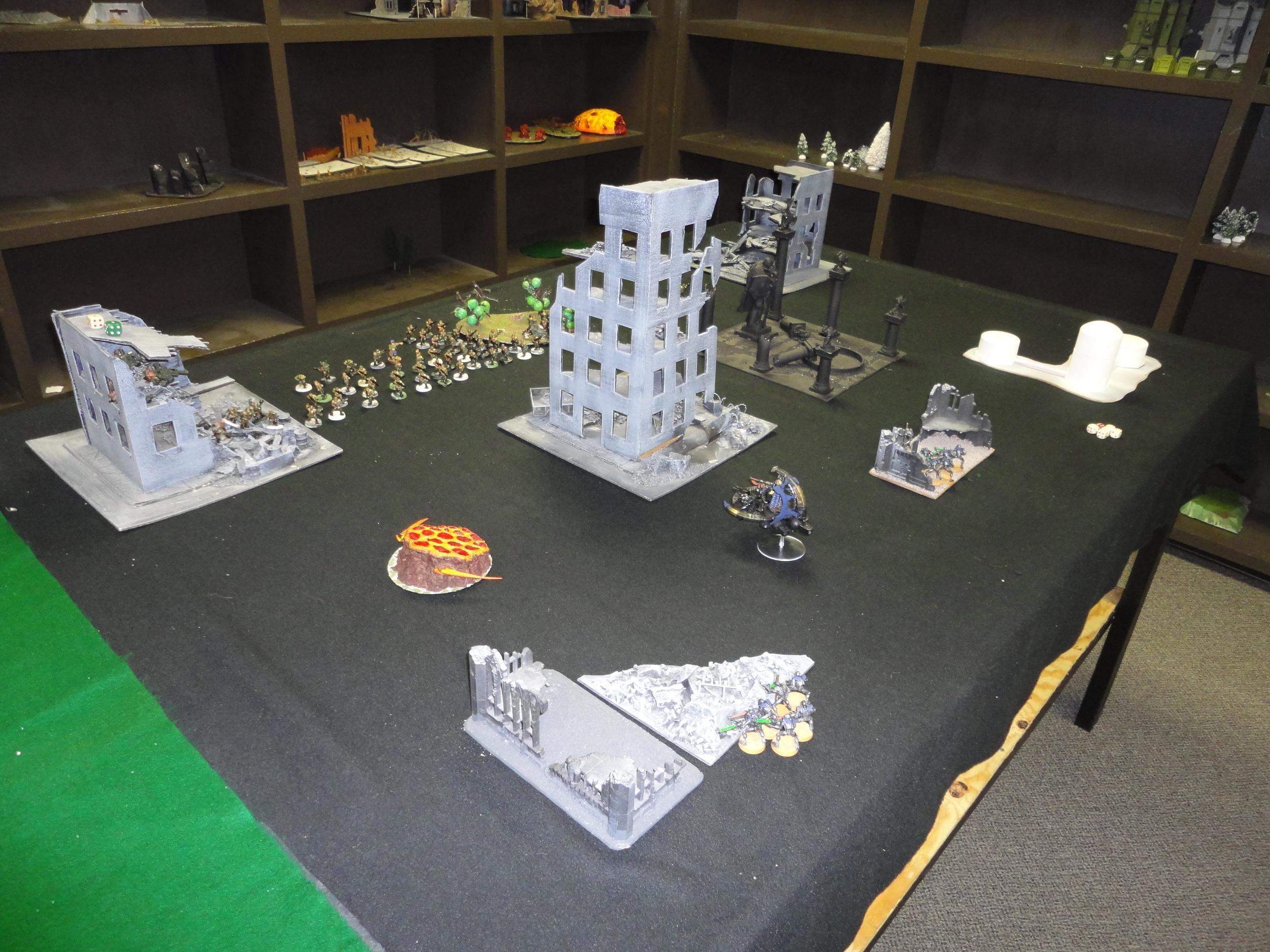 Battle Report, Deployment