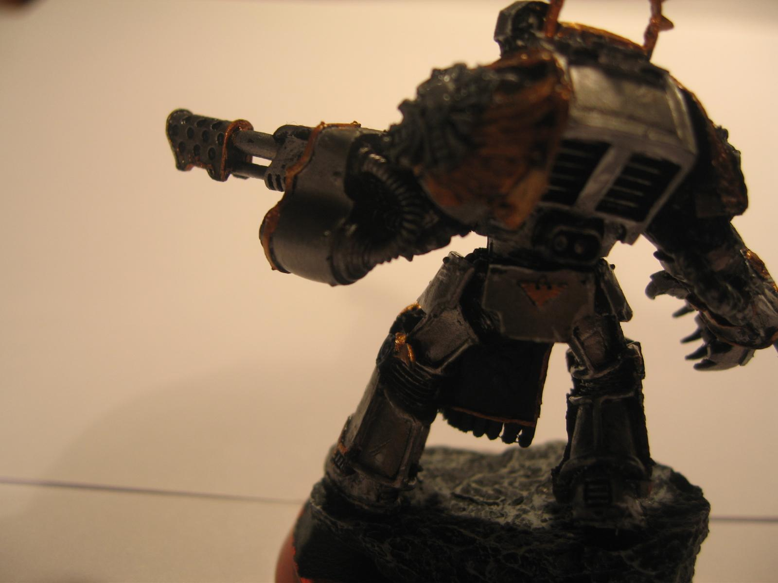 Heavy Flamer, Space Marines, Tactical Dreadnought Armour, Terminator Armor, Warhammer 40,000