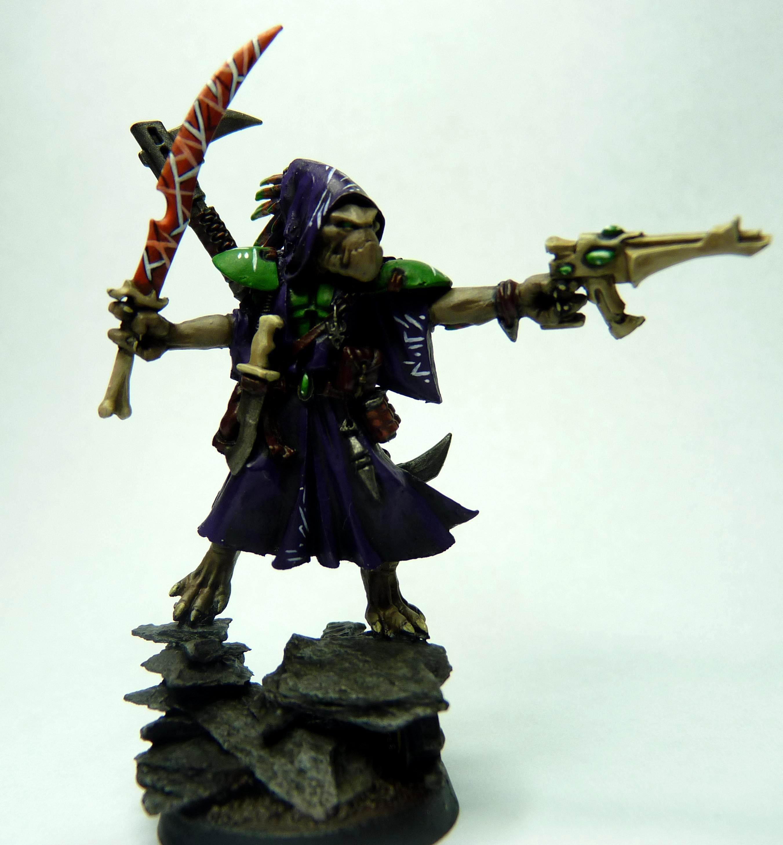 Conversion, Eldar, Kroot, Rangers, Shaper, Warhammer 40,000