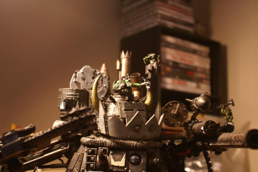 Games Workshop, Ork Boyz, Ork Stompa, Painted, Stompa, Warhammer 40,000