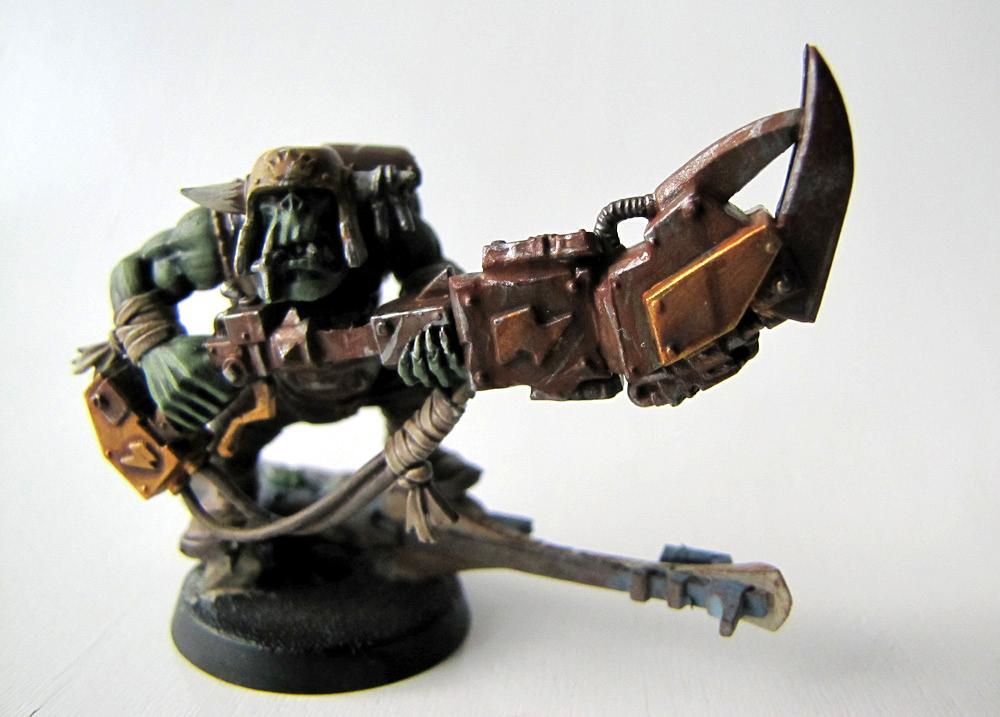 Eldar, Orks, Rust, Rusty, Tankbustas, Tankhammer, Warhammer 40,000
