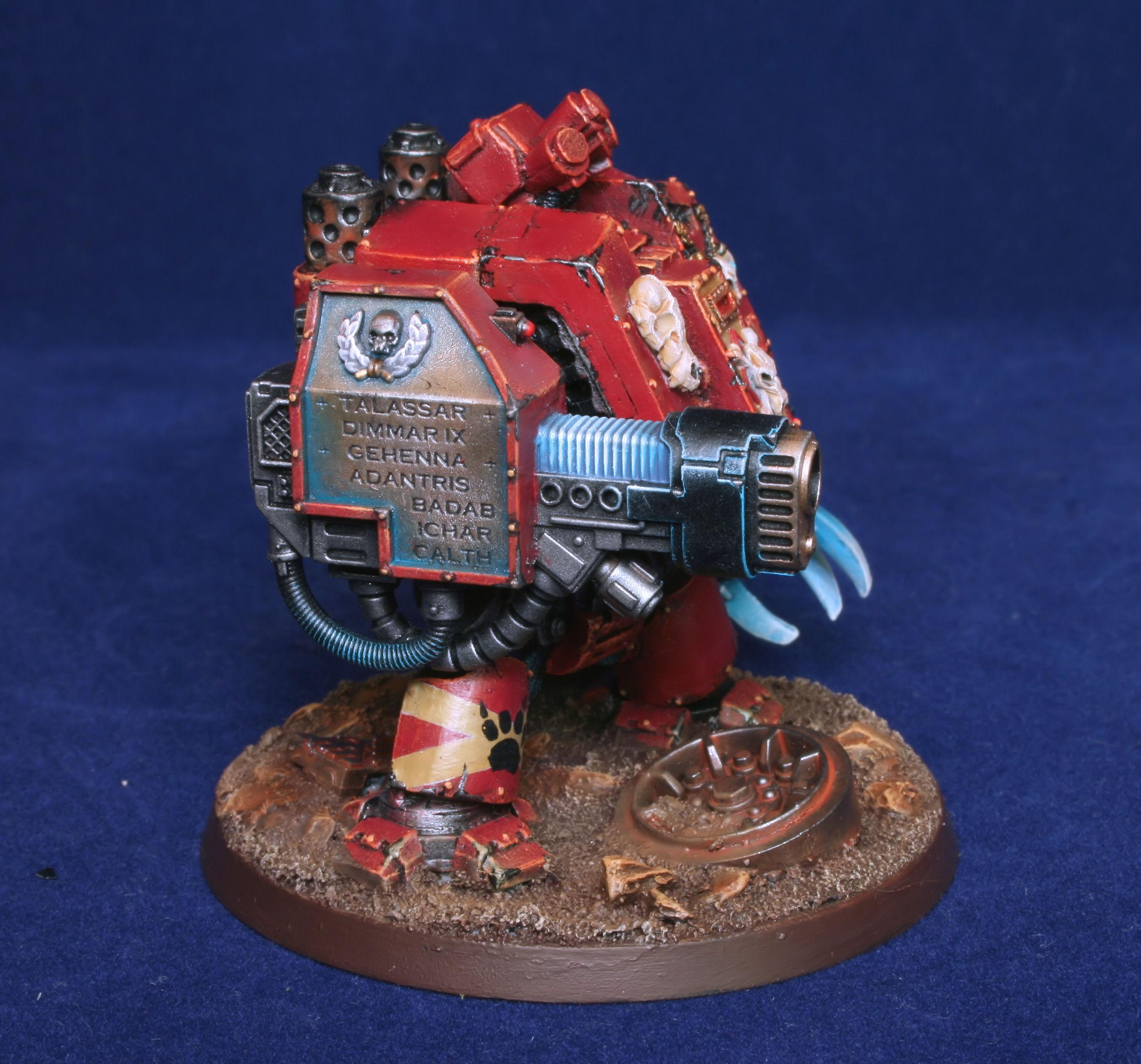 Dreadnought, Space Wolves, Weathering Powder