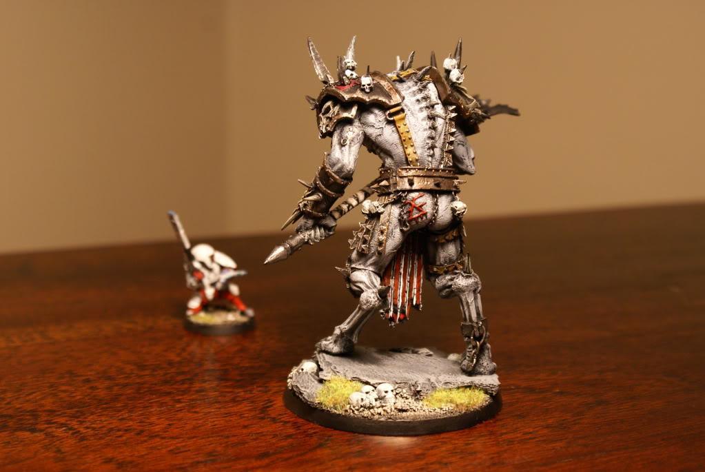 Chaos Demon, Chaos Space Marines, Forge World, Khorne, Warhammer 40,000, Warhammer Fantasy