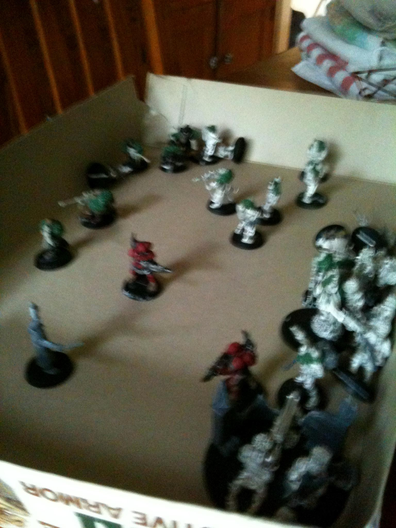 Marbo, Mechanics, Red Spray Paint, Snipers, Vostroyans