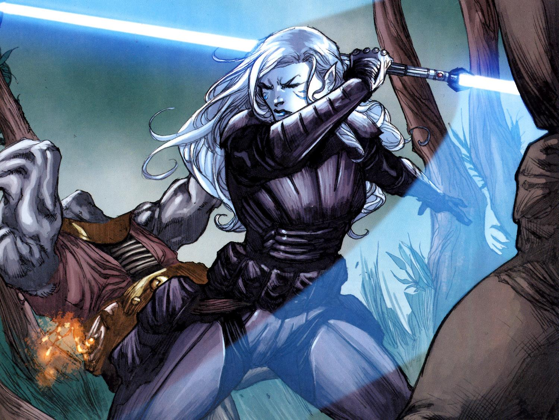 Jarael from the Star Wars KoToR comic series