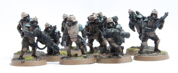 Imperial Guard, Veterans