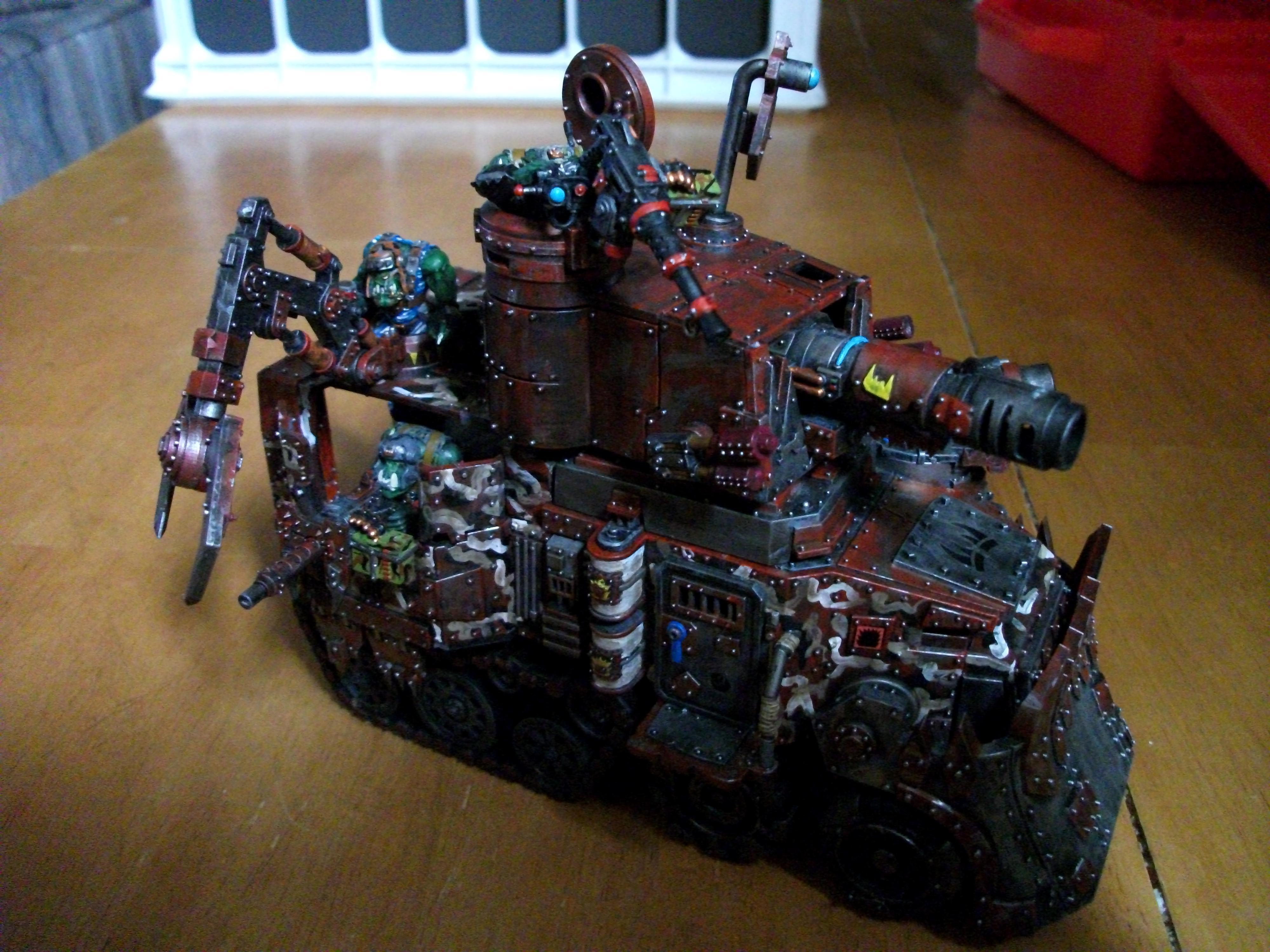 Battlewagon, Conversion, Orks, W40k