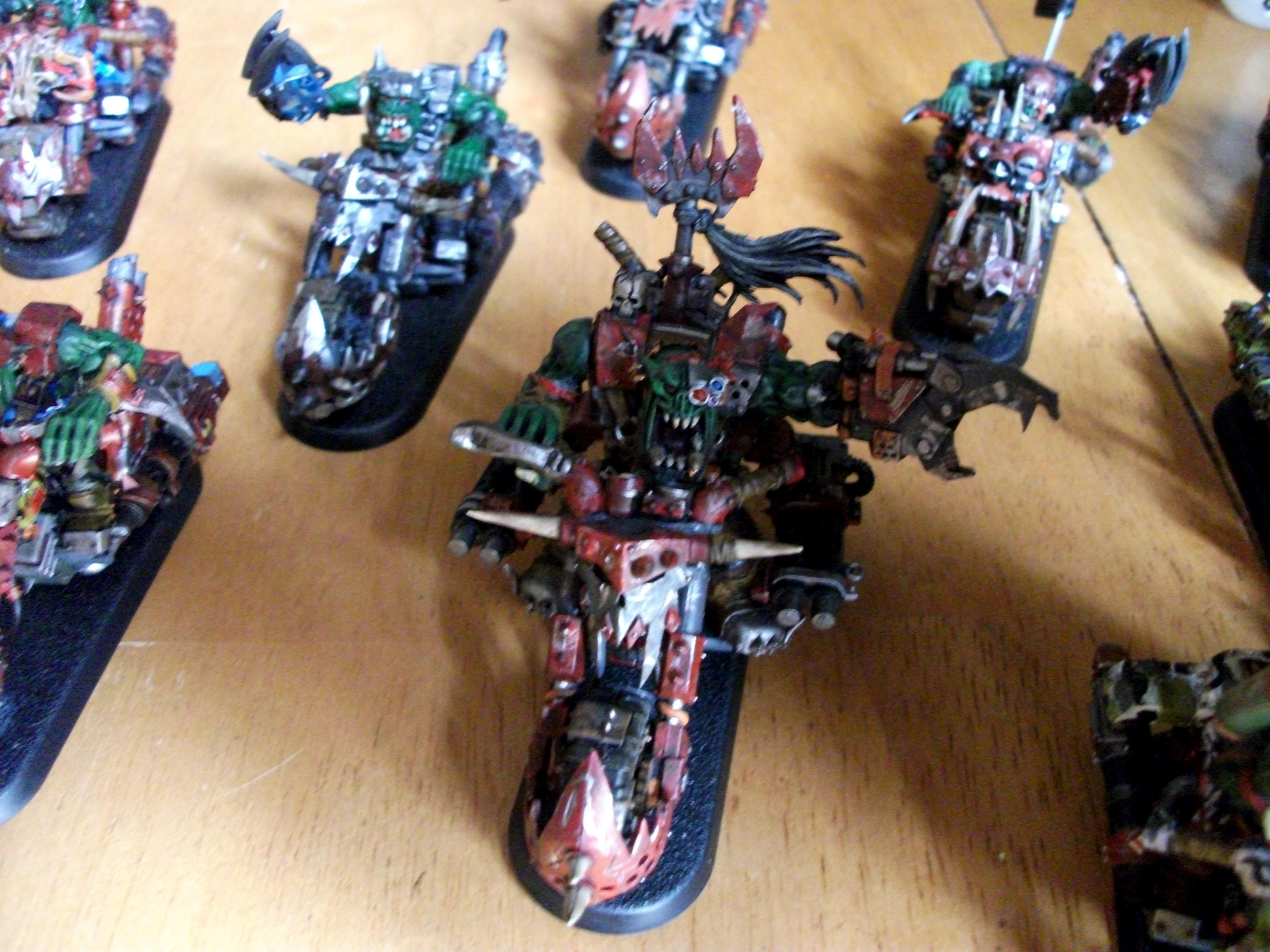Nob Biker, Nob Warbiker, Orks, War Biker, Warbike, Warbiker, Warboss, Warboss Biker, Warboss Warbiker