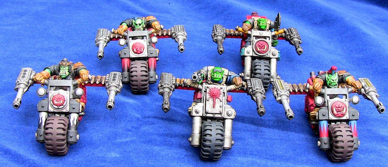 Bike, Orks, Warbikers, Warhammer 40,000