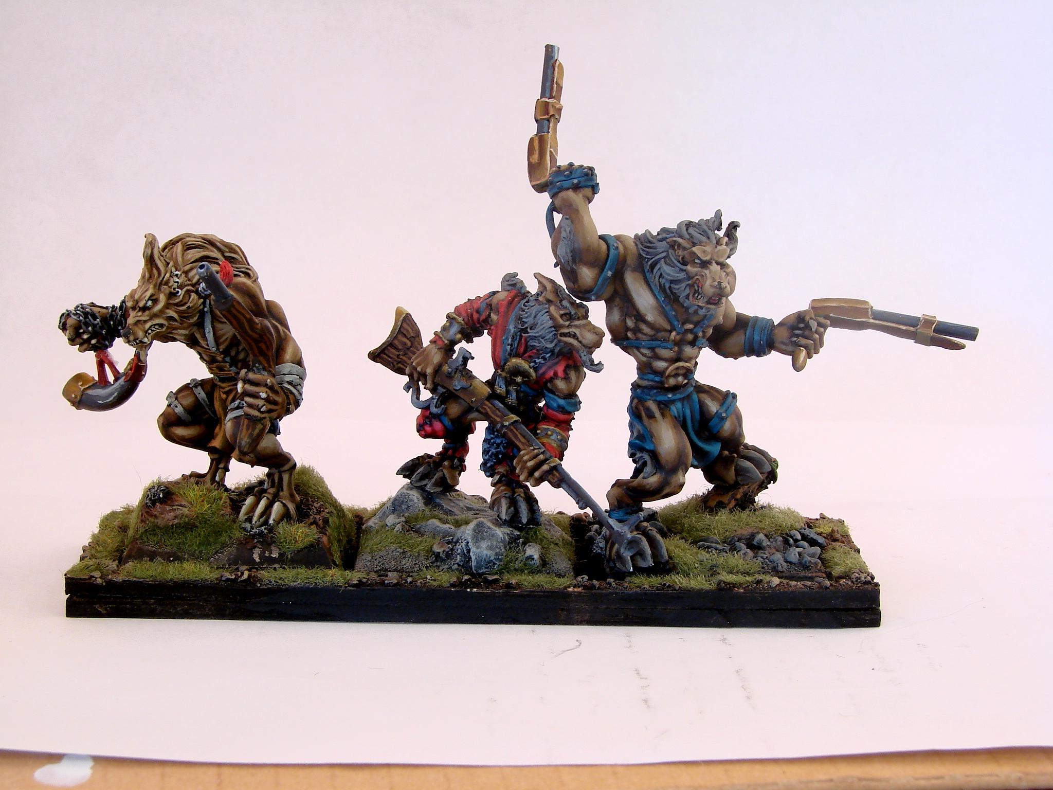 Maneaters, Non-Metallic Metal, Ogre Kingdoms, Rackham, Razormage
