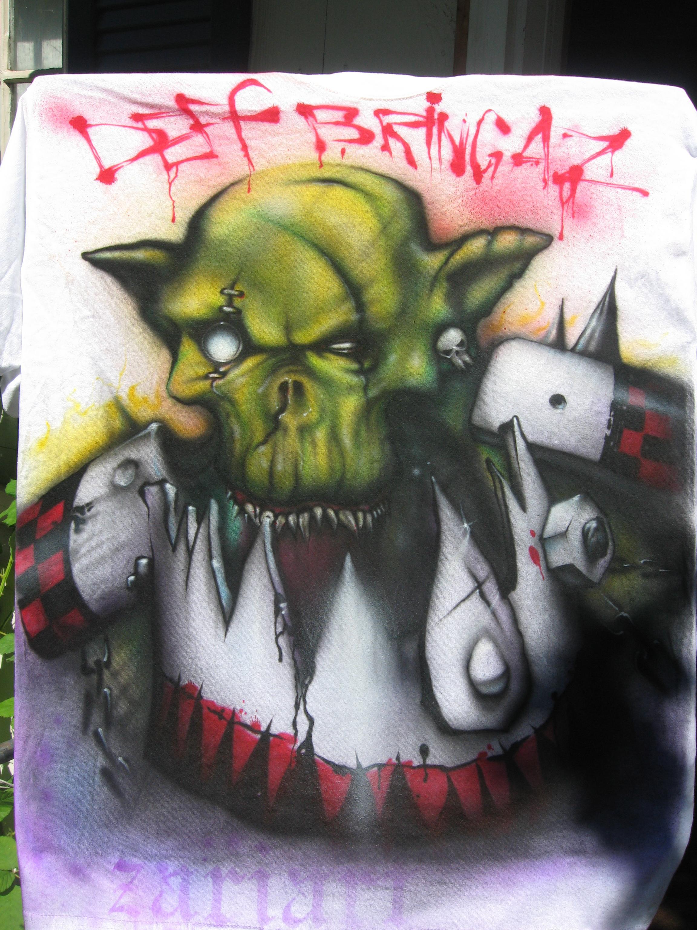 Def, Deff, Humor, Orks, T-shirt, T_shirt, Warhamer 40k