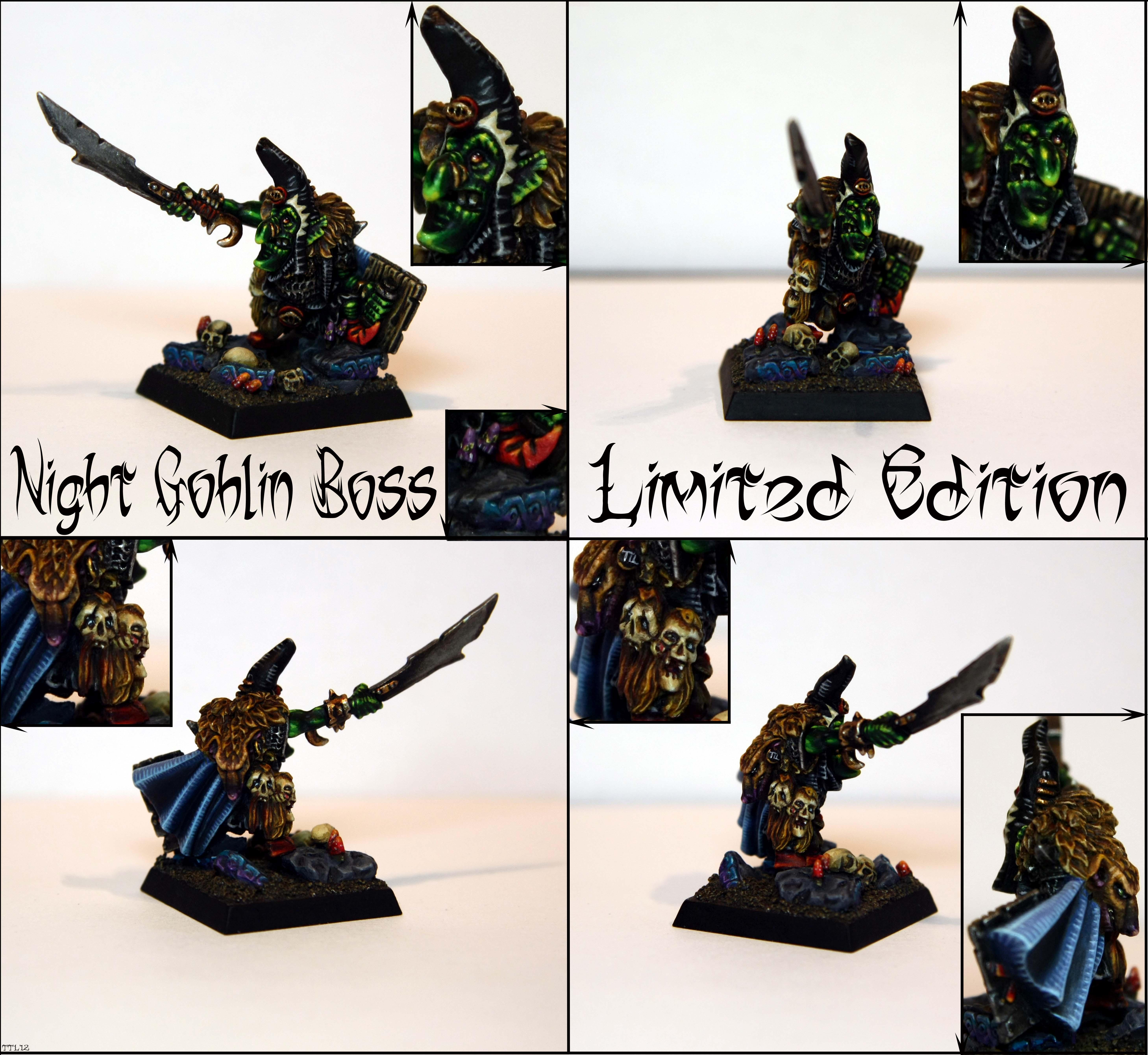 Boss, Limited Edition, Lord, Night Goblin Boss Limited Edition, Night Goblins