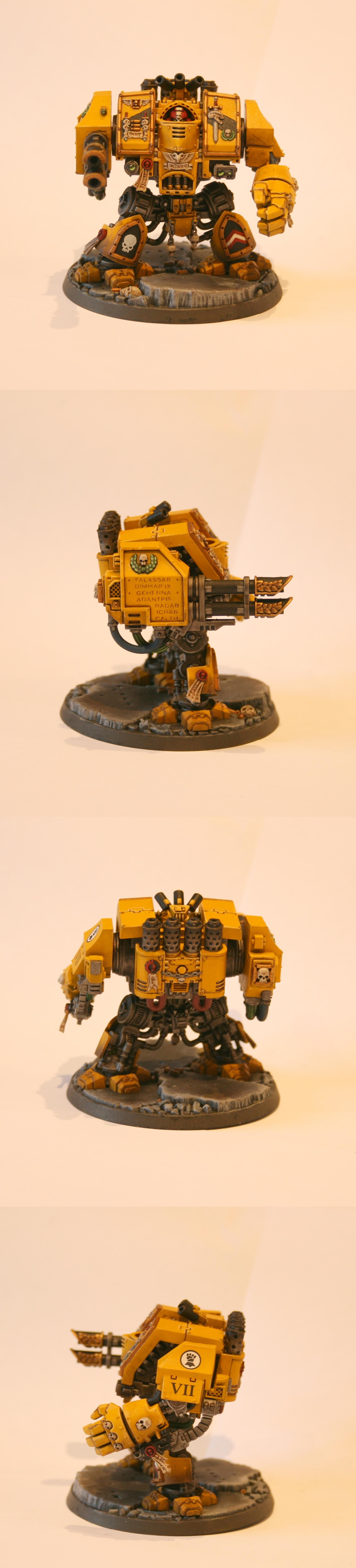 Dreadnought, Imperial Fists, Venerable Dreadnought