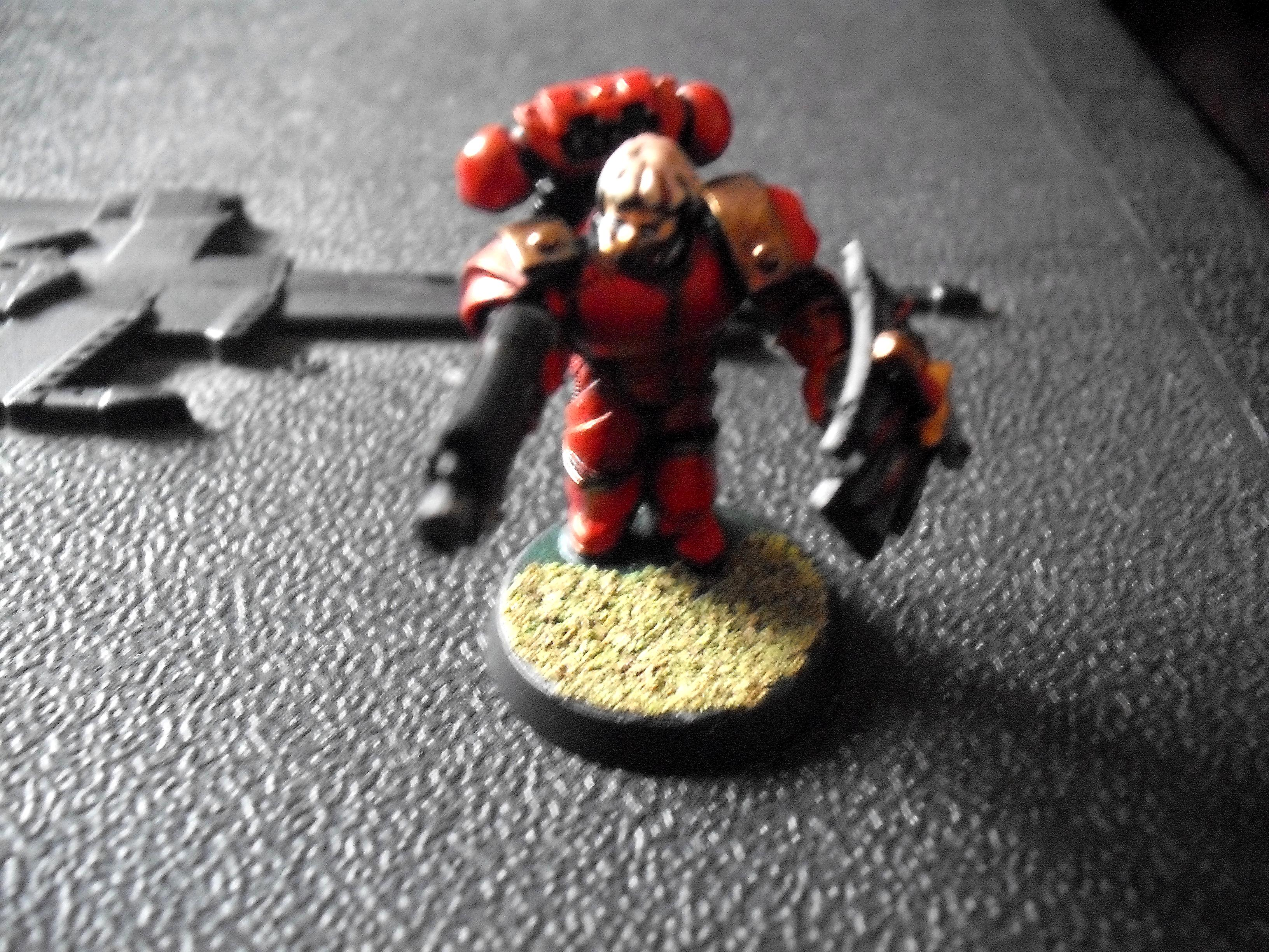 Blood Angels, Bolter, Honour Guard, Roman Armour, Storm Shield, Veteran