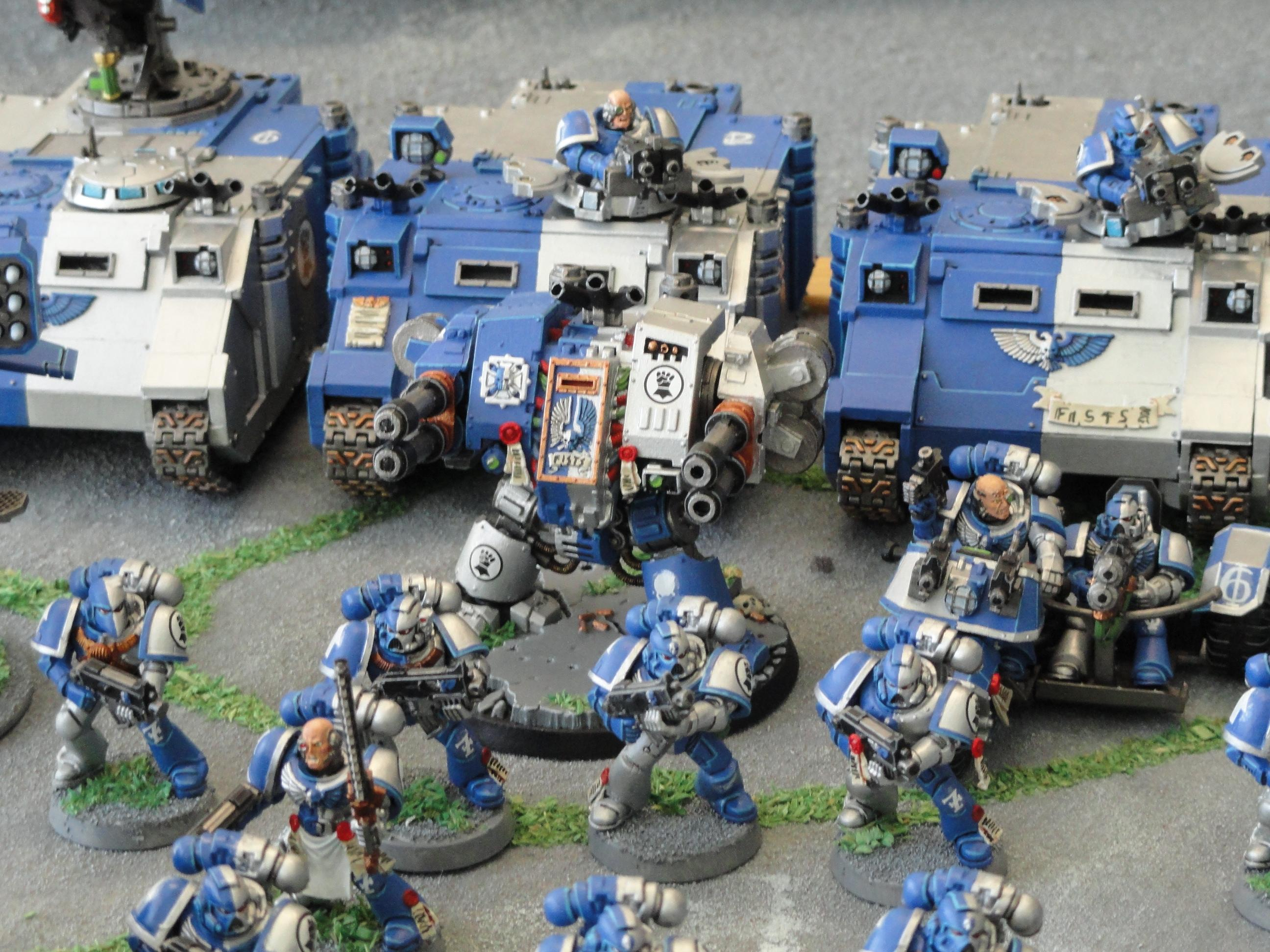 Blue, Imperial Fists, Novamarines, Space Marines, Warhammer 40,000, White