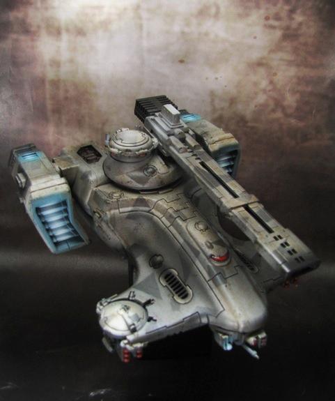 Painted, Tau, Vehicle, Warhammer 40,000, Xenos