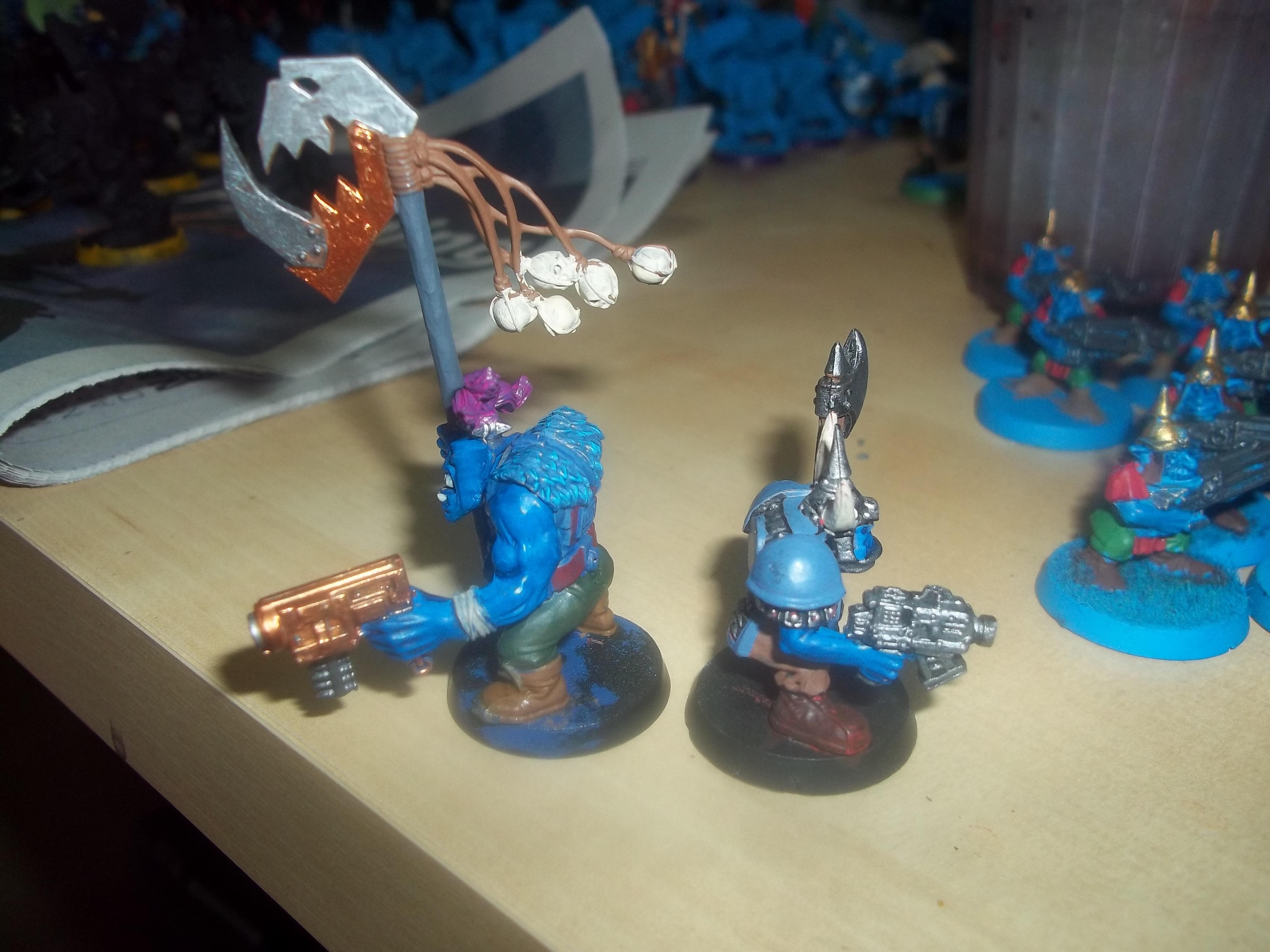 Blue Orks, Orks, Warhammer 40,000