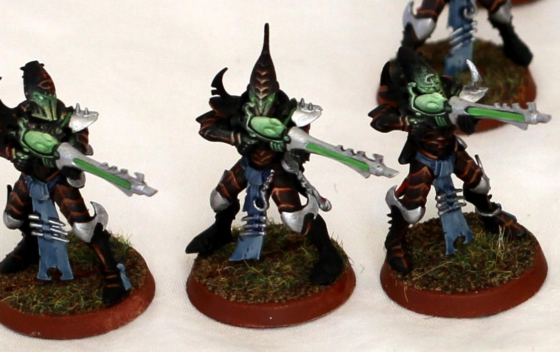 Black Elite, Dark Eldar, Eldar, Glow, Green, Poison, Red, Rifle, Splinter, Troops