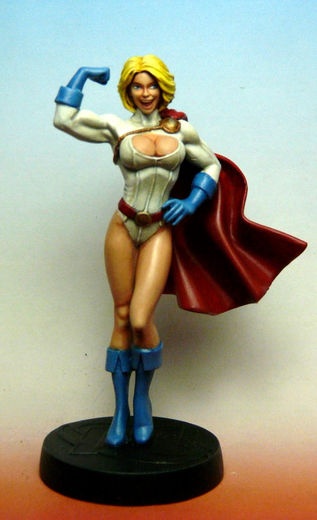 Comics, Dc, Justice Society Of America, Karen Starr, Power Girl, Superhero