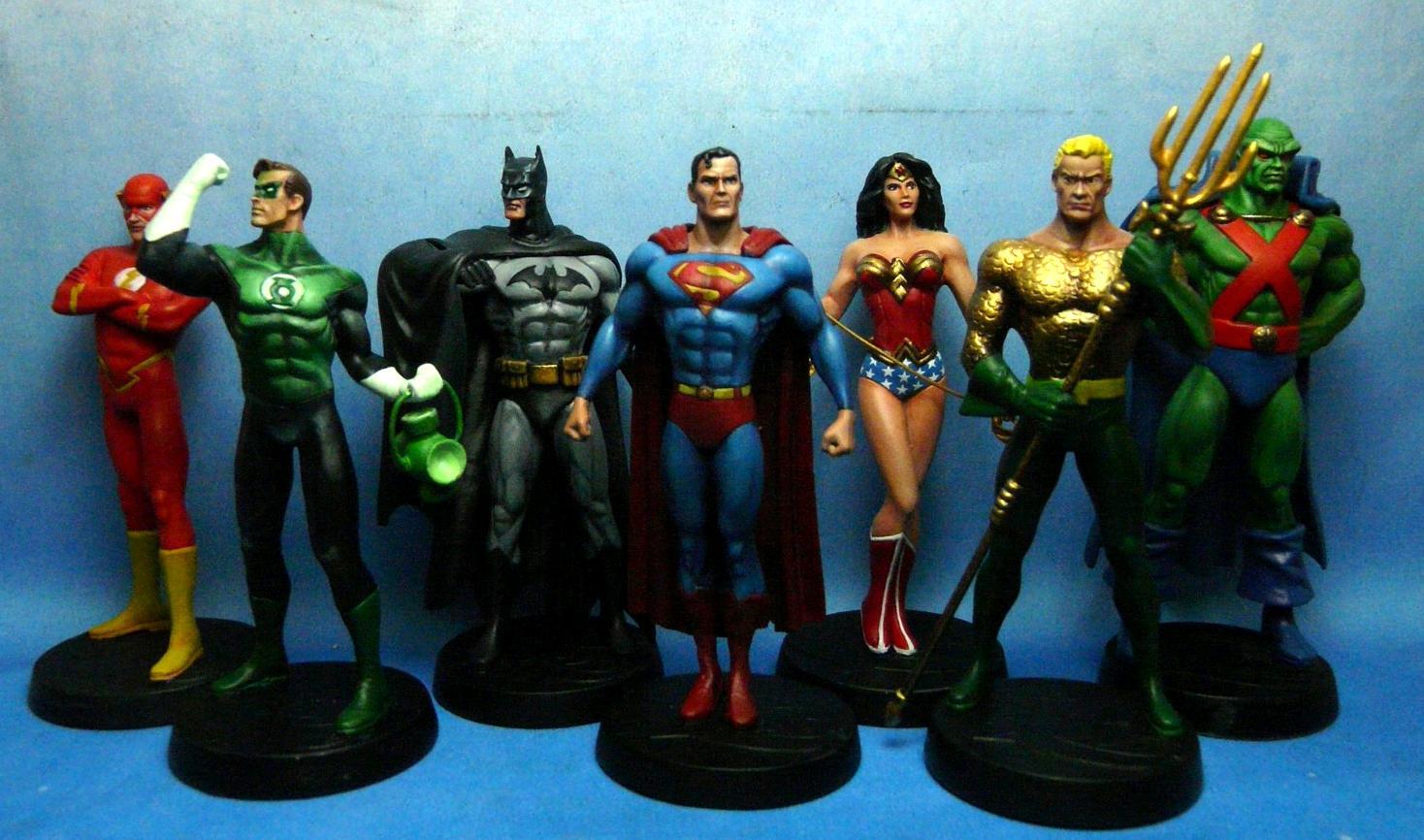 Aquaman, Batman, Comics, Dc, Green Lantern, Jla, Justice League Of America, Martian Manhunter, Superhero, Superman, Wonder Woman