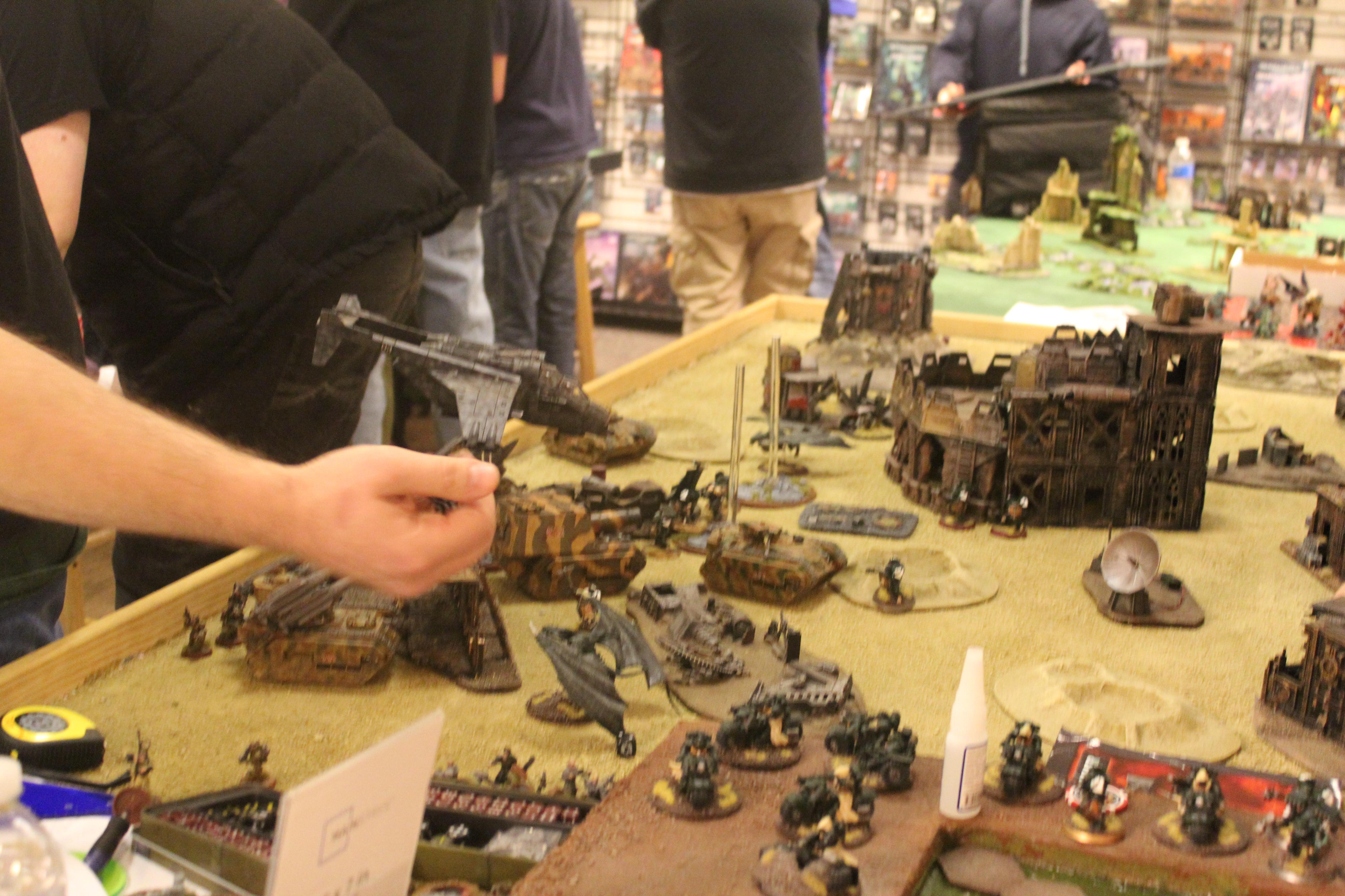 Game, Game Table, Terrain, Warhammer 40,000