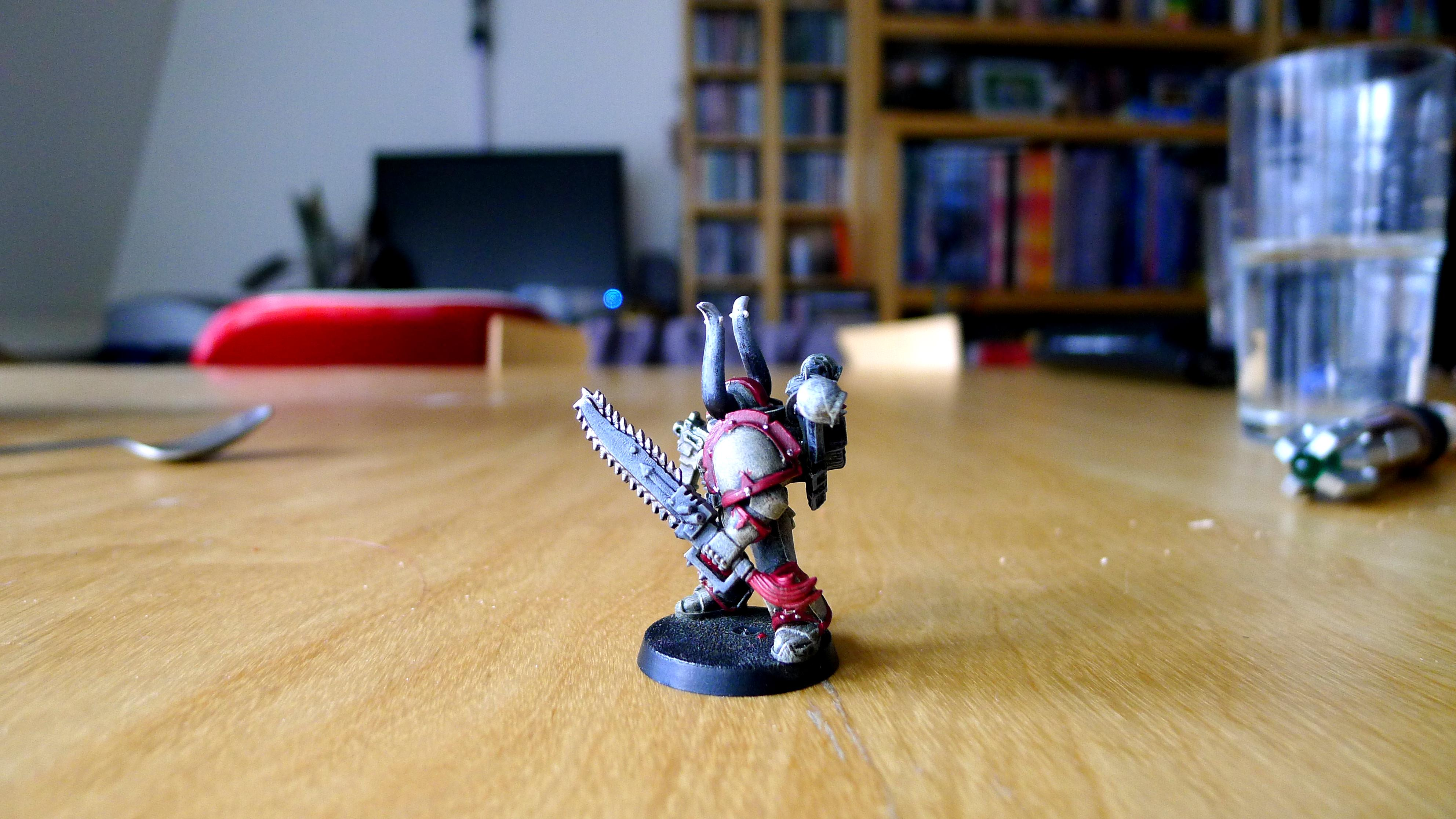 Chaos Space Marines Color Test