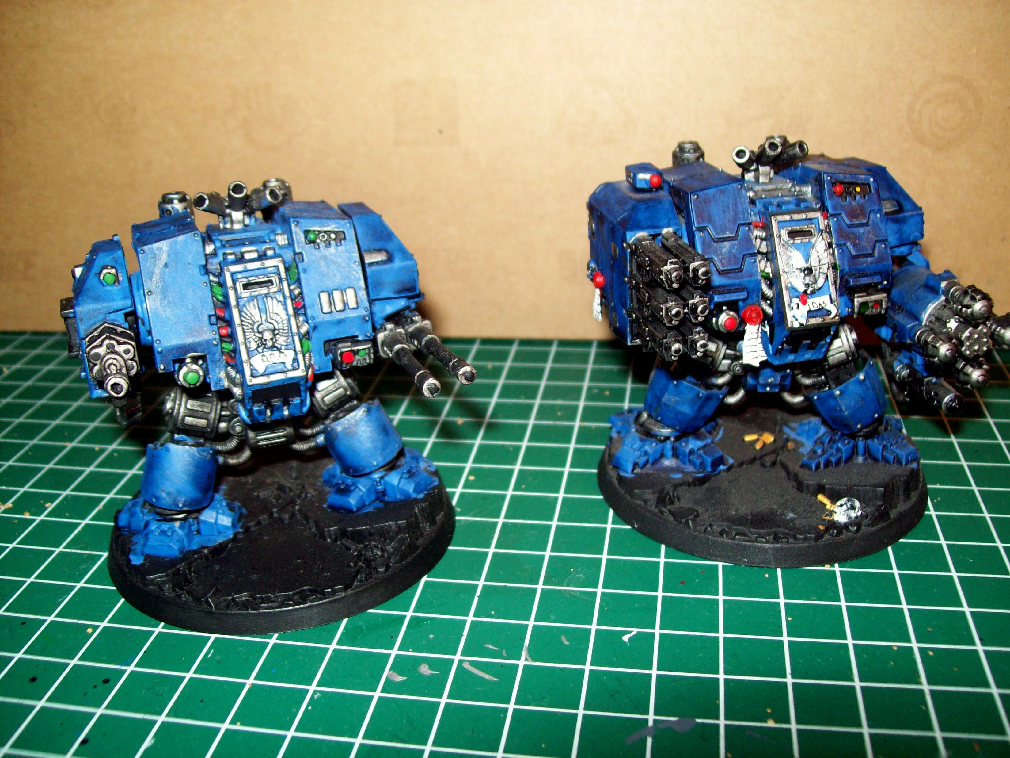 Ultramarines 4th, Dreadnought and Ironclad