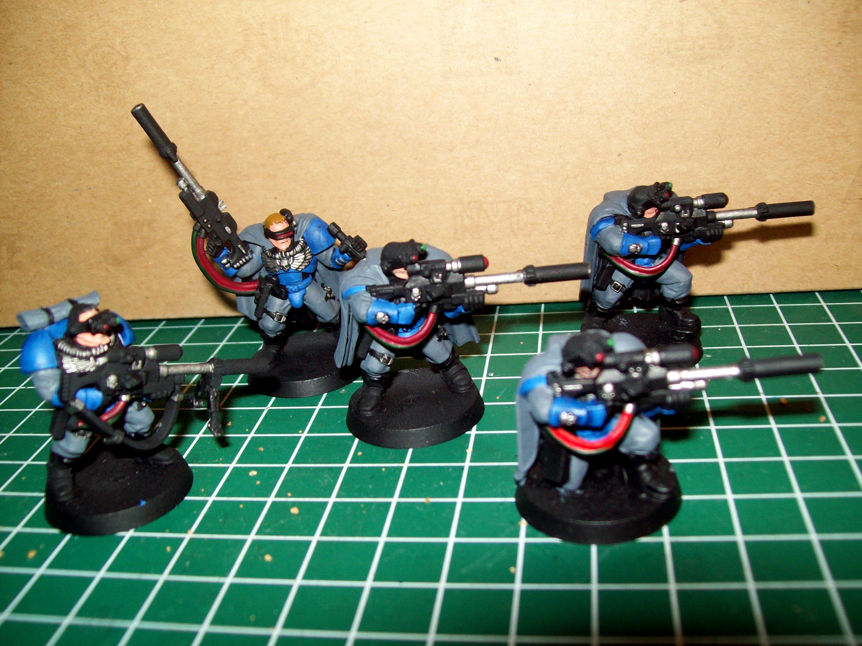 Ultramarines 4th, Scouts with sniper rifles