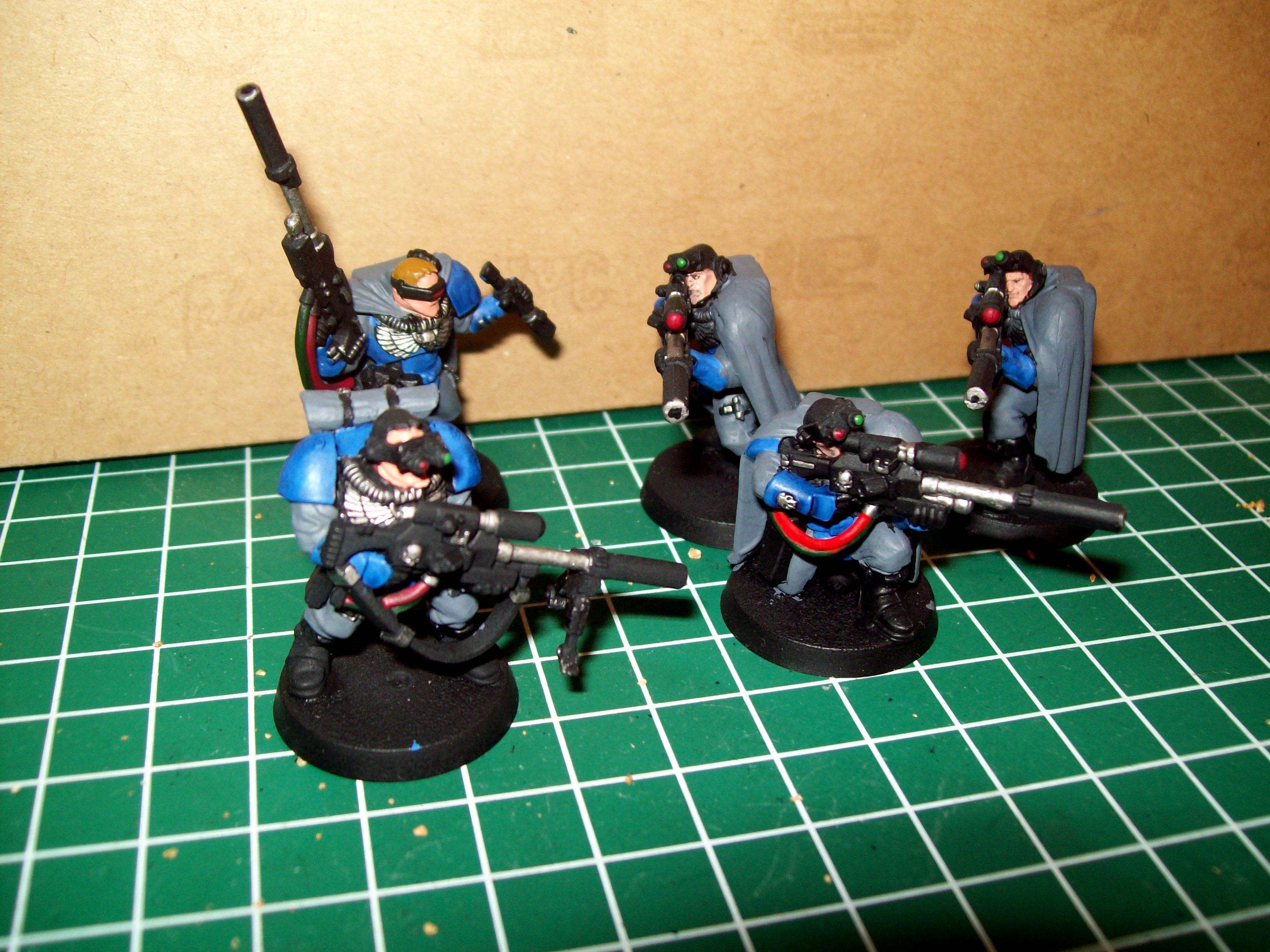 Scouts, Space Marines, Ultramarines 4th