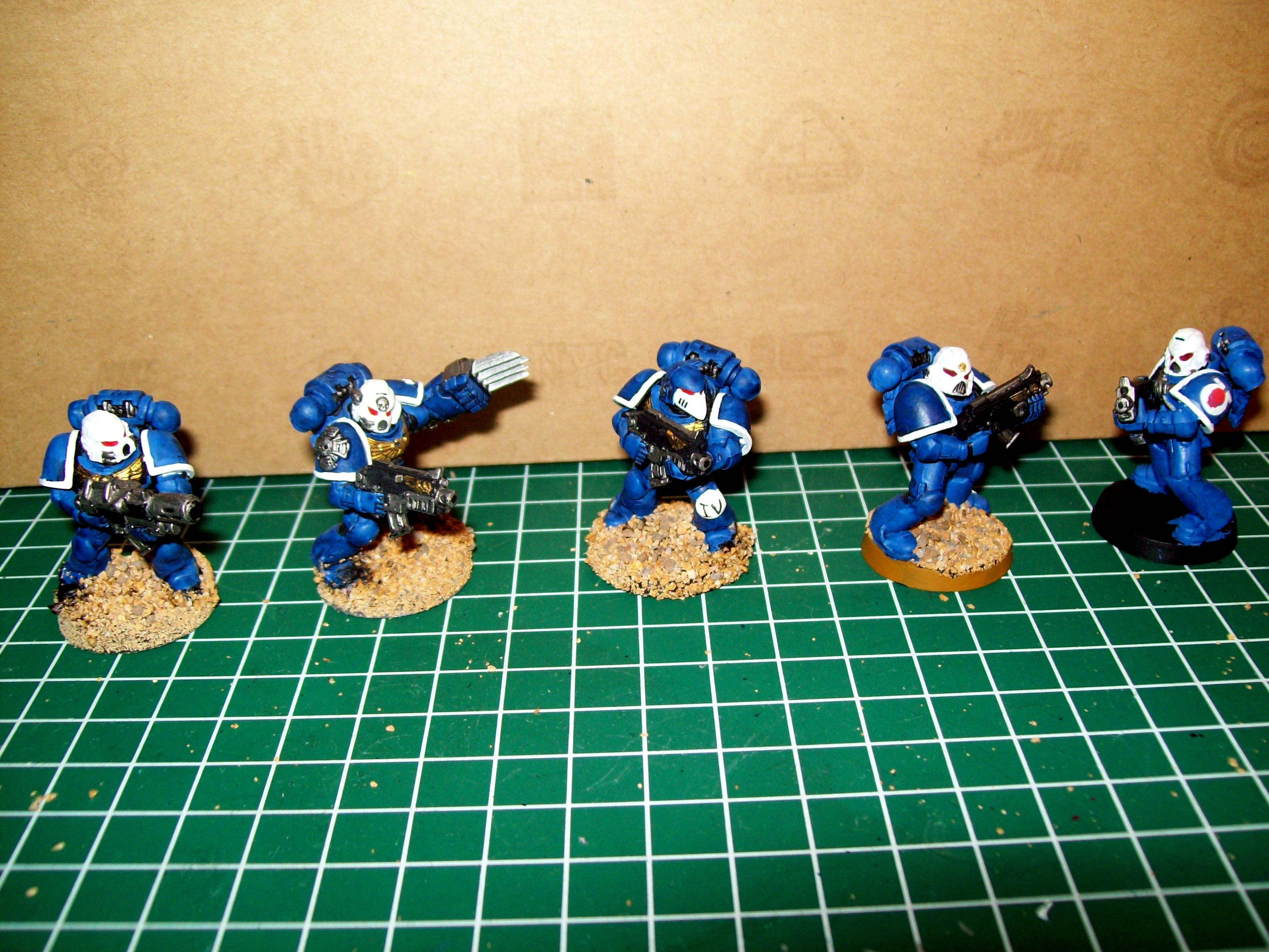 Ultramarines 4th, Sternguard squad
