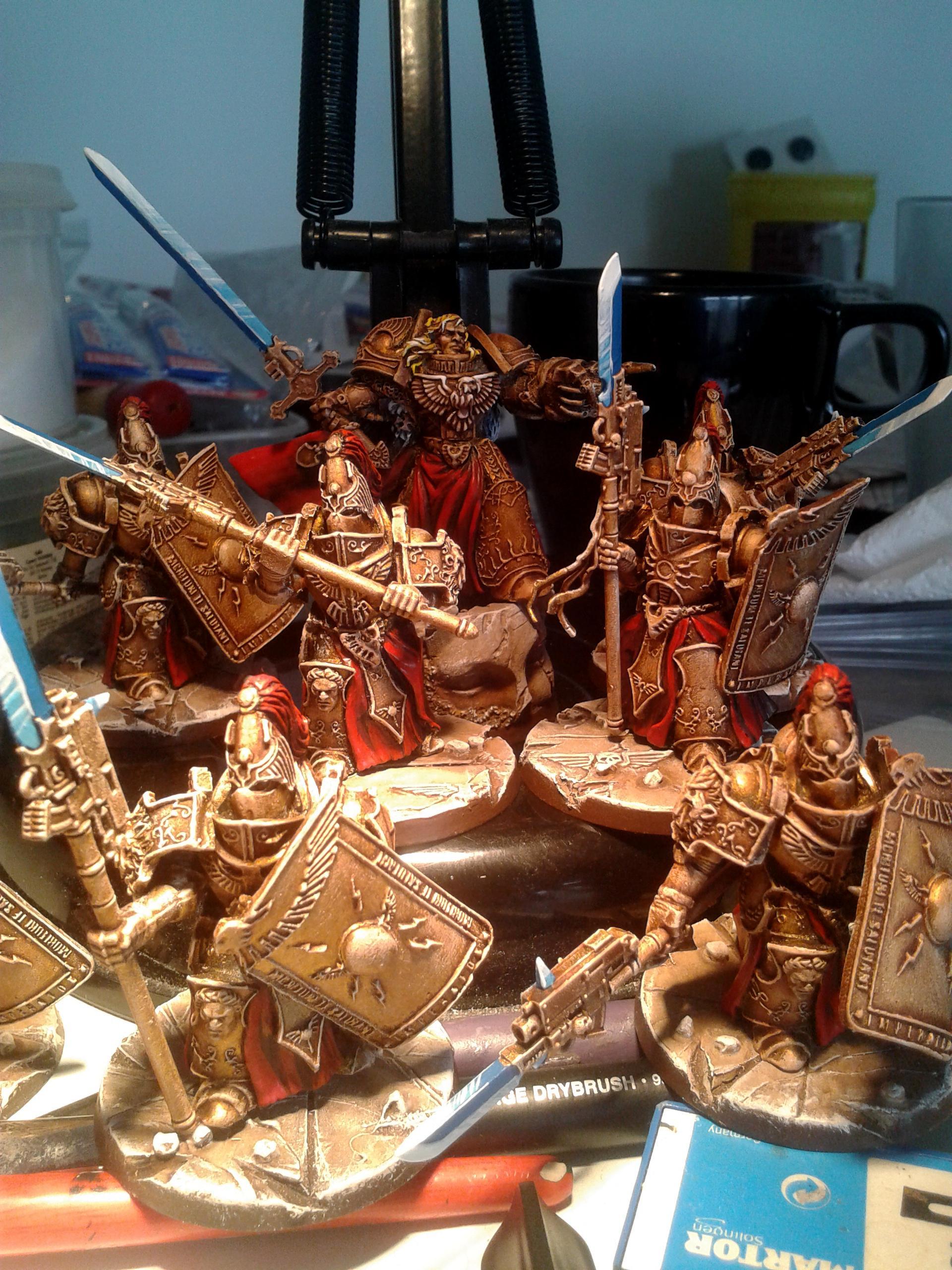 Adeptus Custodes, Constantin Valdor, Horus Heresy. Scibor, Space Marines
