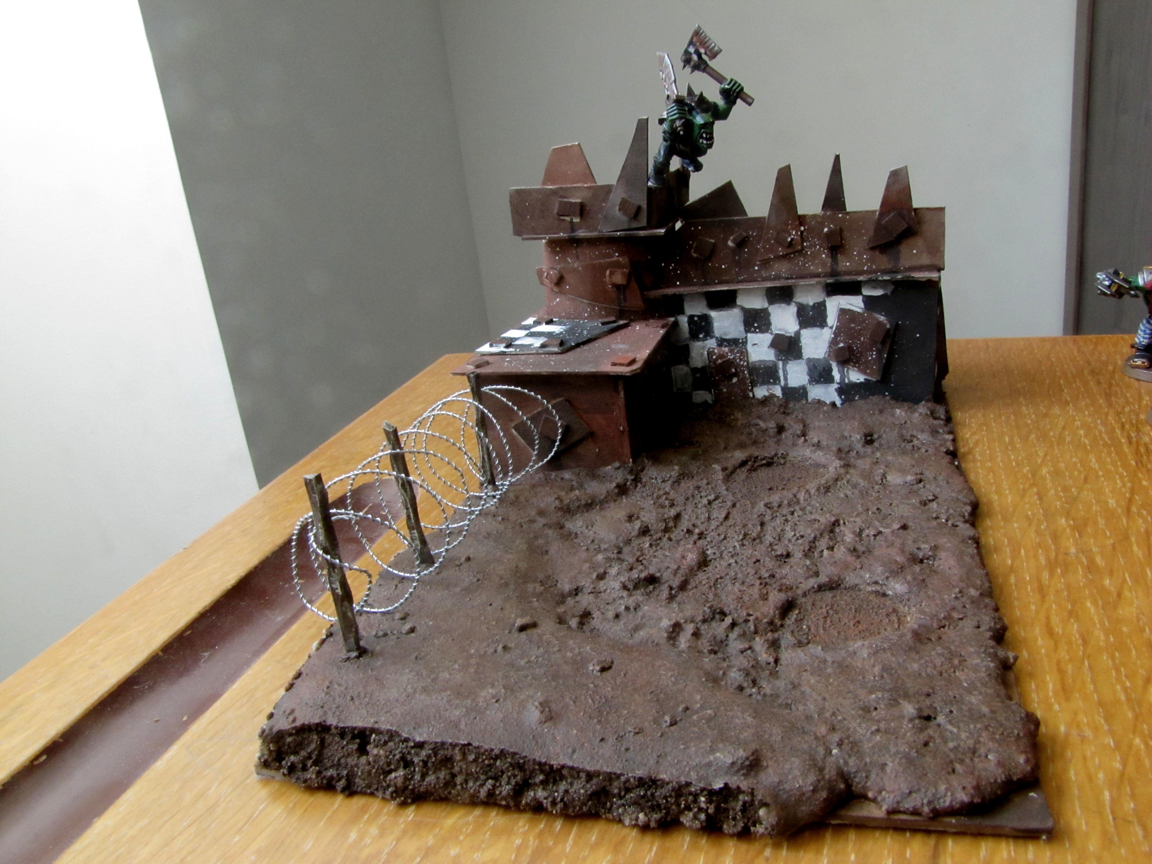 Buildinhg, Dakka Painting Challenge, Goff, Mud, Orks