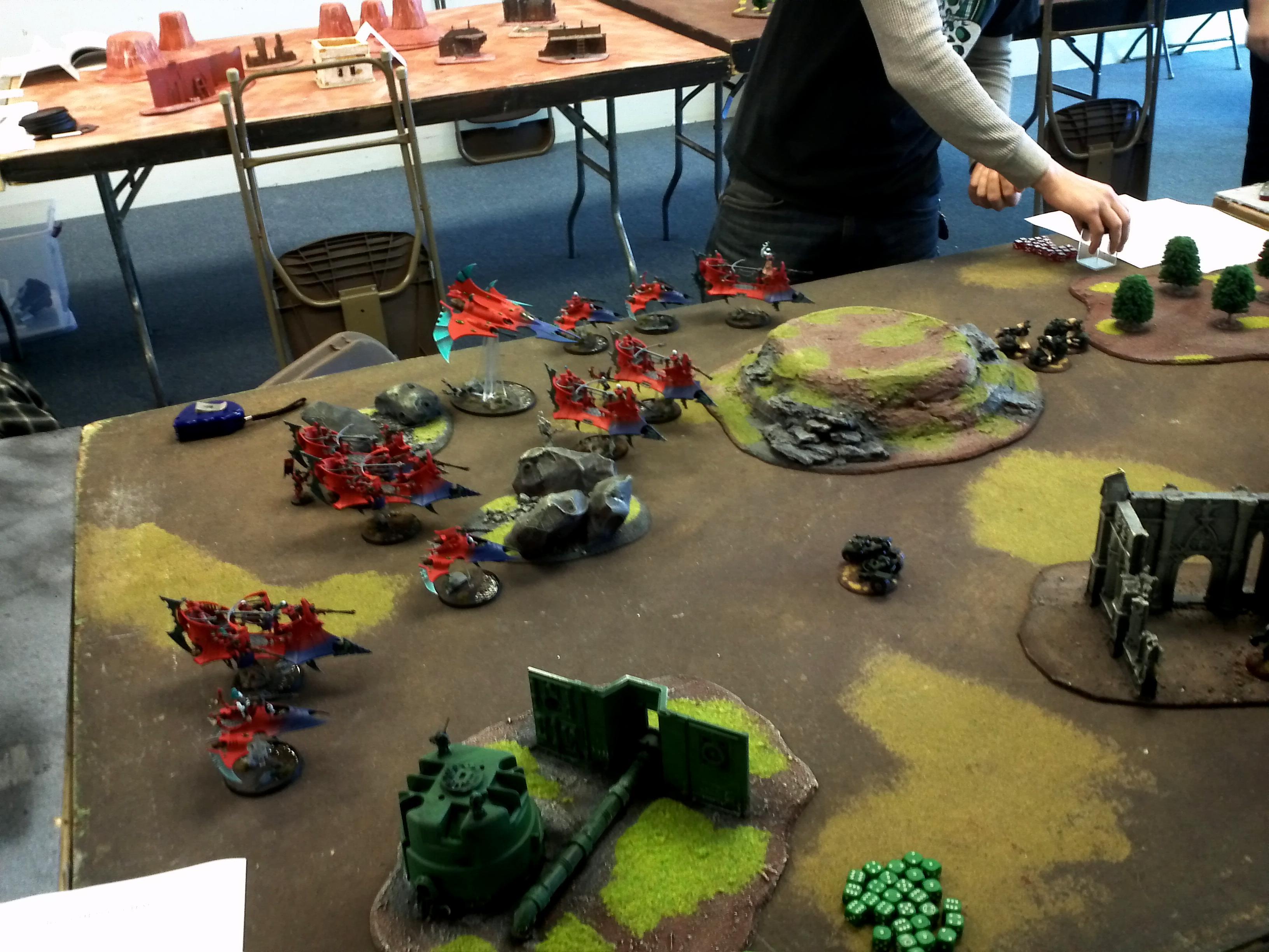 Dark, Deployment, Eldar, Game Table, Tabletop