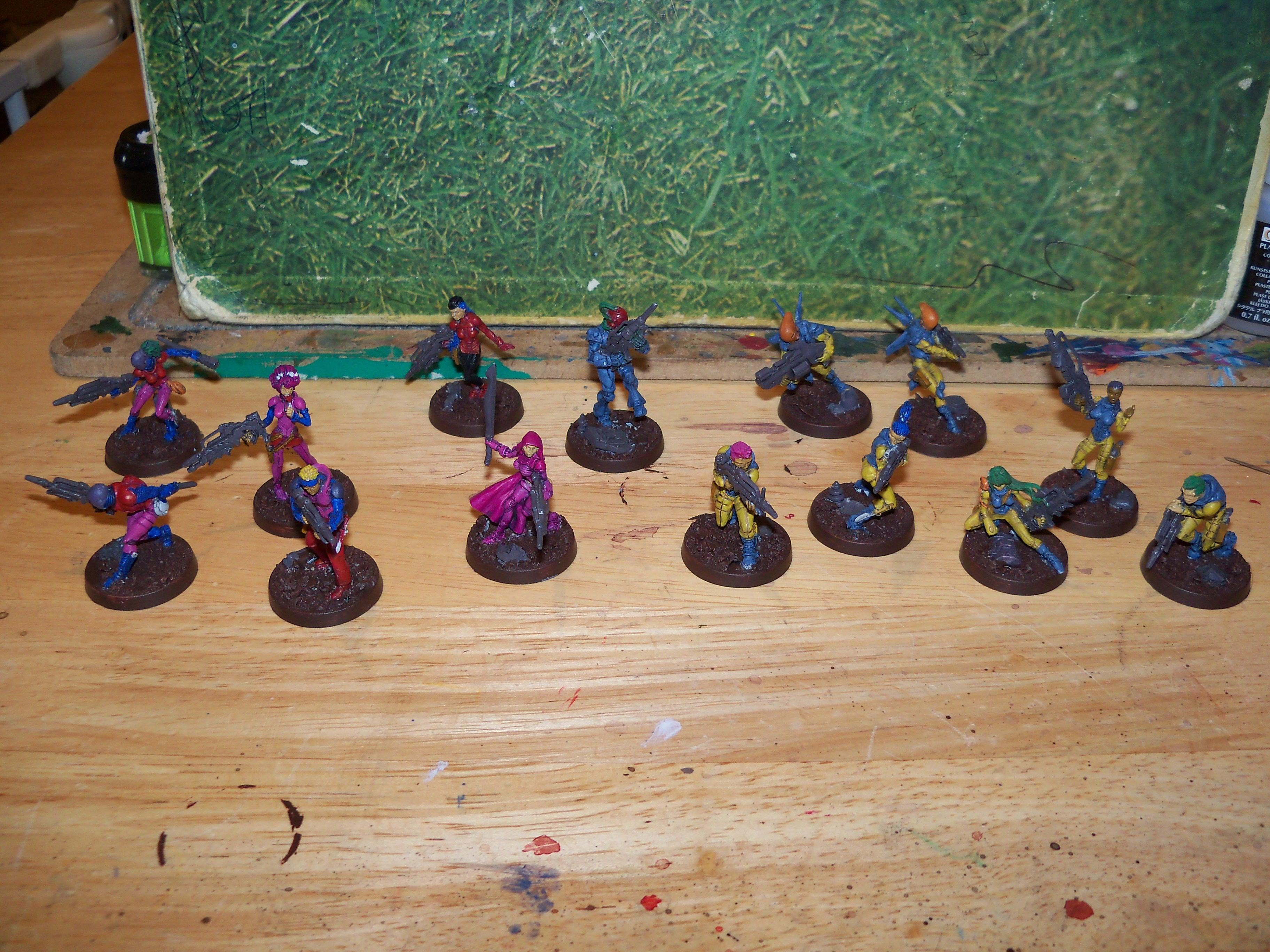 Infinity, Nomads, wip - group shot march 2012