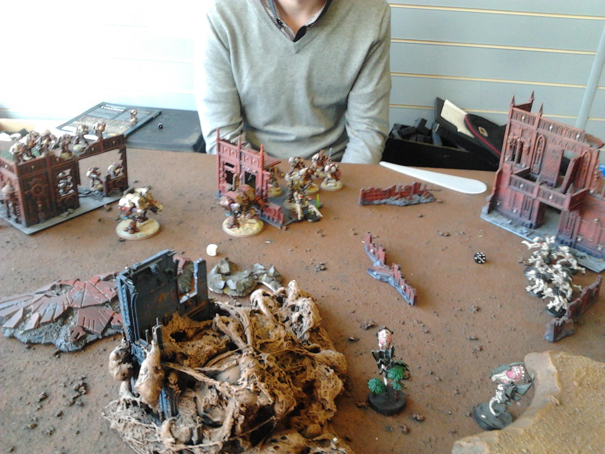 Battle Report, Sons Of Orar, Space Marines, Tyranids, Warhammer 40,000