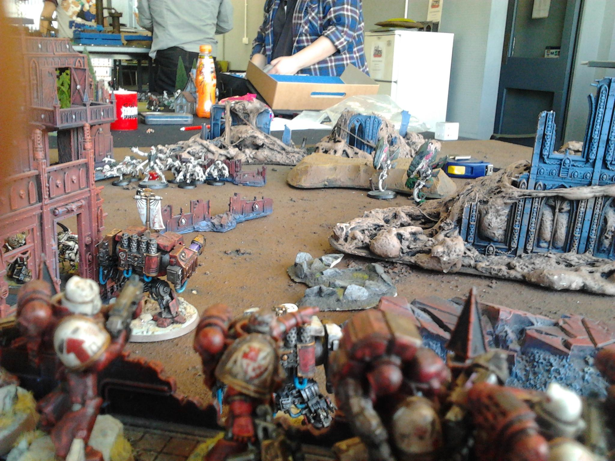 Battle Report, Sons Of Orar, Space Marines, Tyranids, Warhammer 40,000
