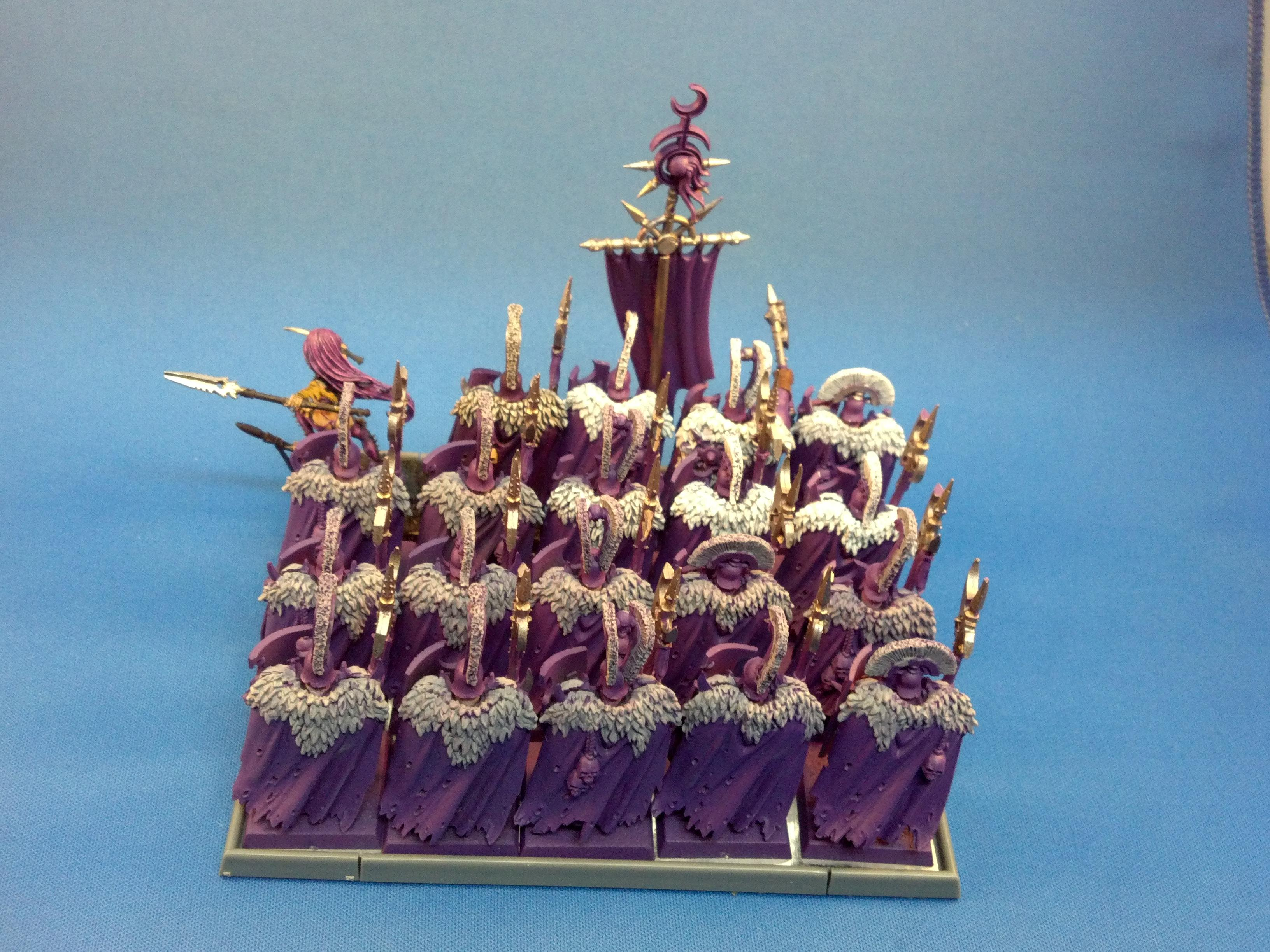 Slaanesh Warriors WIP