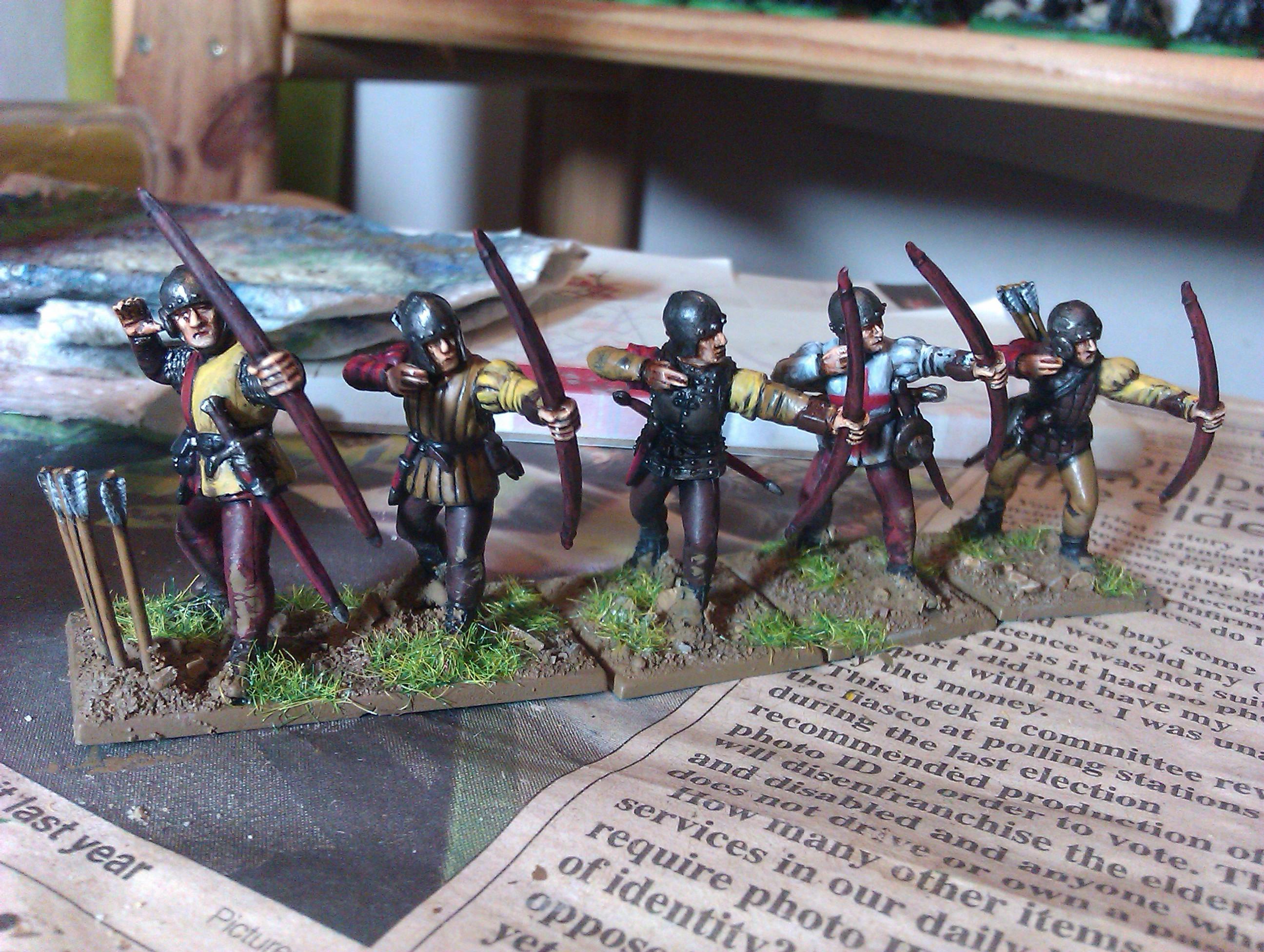 Archers, English, Hyw, Wab