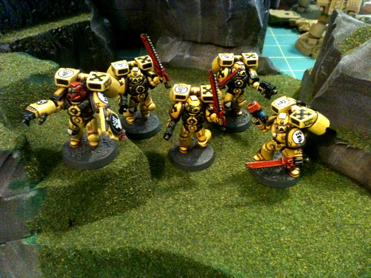 Assault, Assault Marines, Fists, Imperial Fists, Space Marines