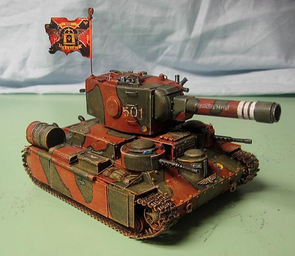 Conversion, Imperial Guard, Leman Russ, Soviet, Tank