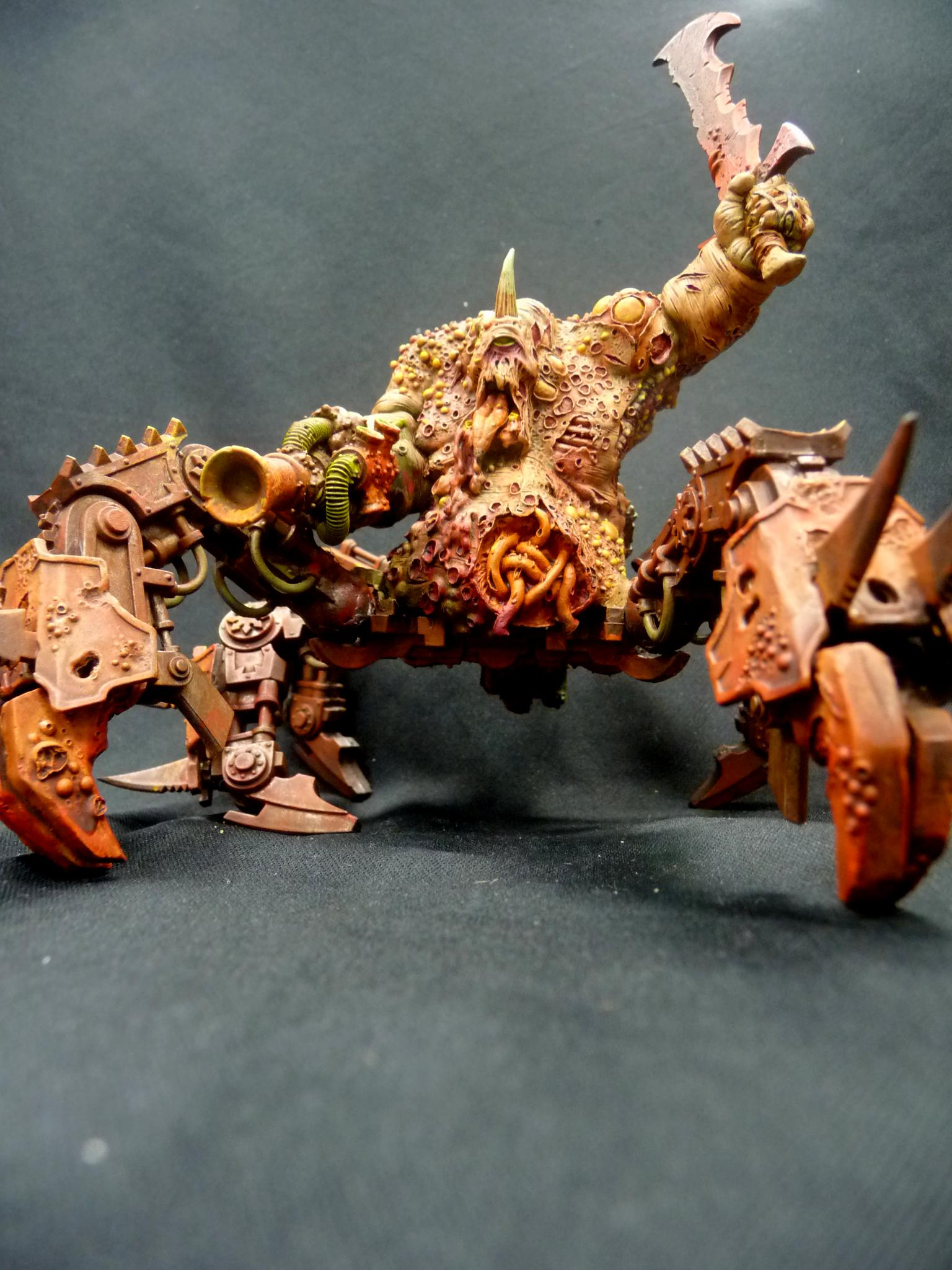 Chaos, Death Gaurd, Forge World, Plague Hulk, Warhammer 40,000, Warhammer Fantasy