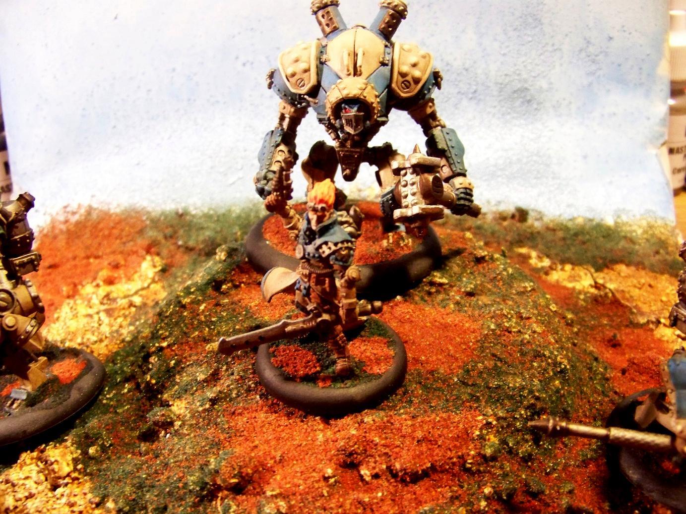 Cygnar, Warcaster, Warjack, Warmachine