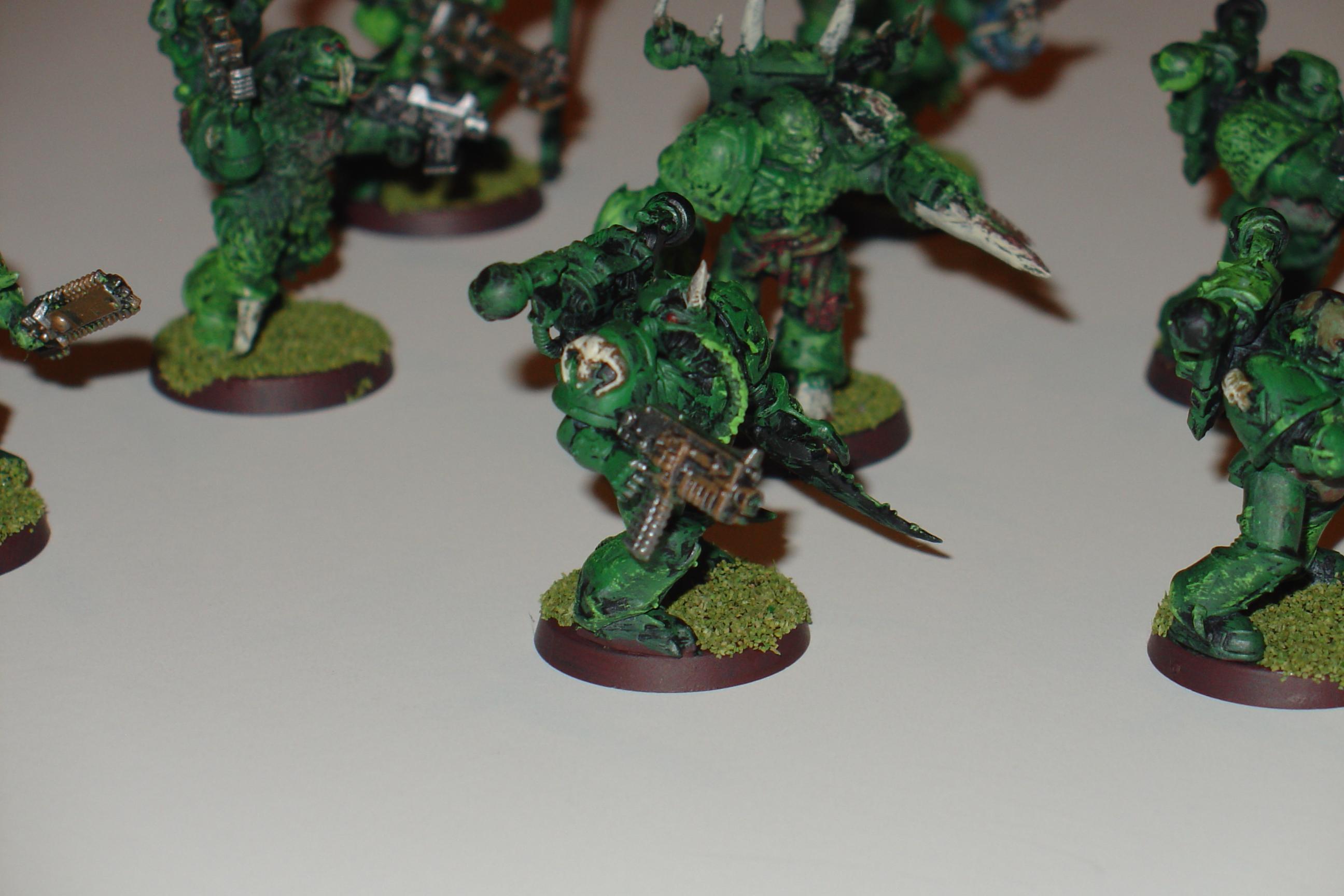 Death Guard, Nurgle, Plague Marines
