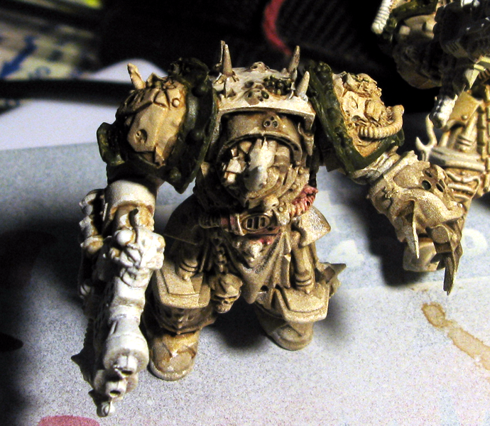 Death Guard, Forge World, Heresy Colors, Nurgle, Terminator Armor, Wash, Work In Progress