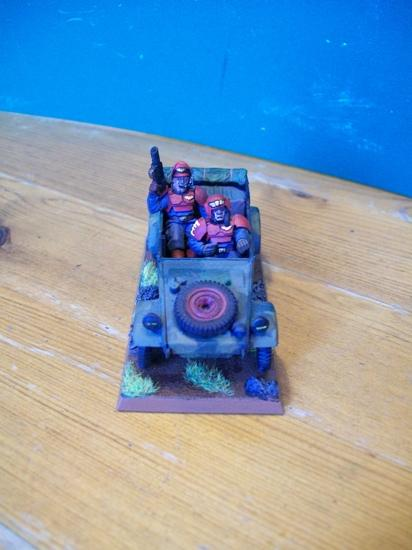 Imperial Guard, Jeep, Salamander, Scout Car