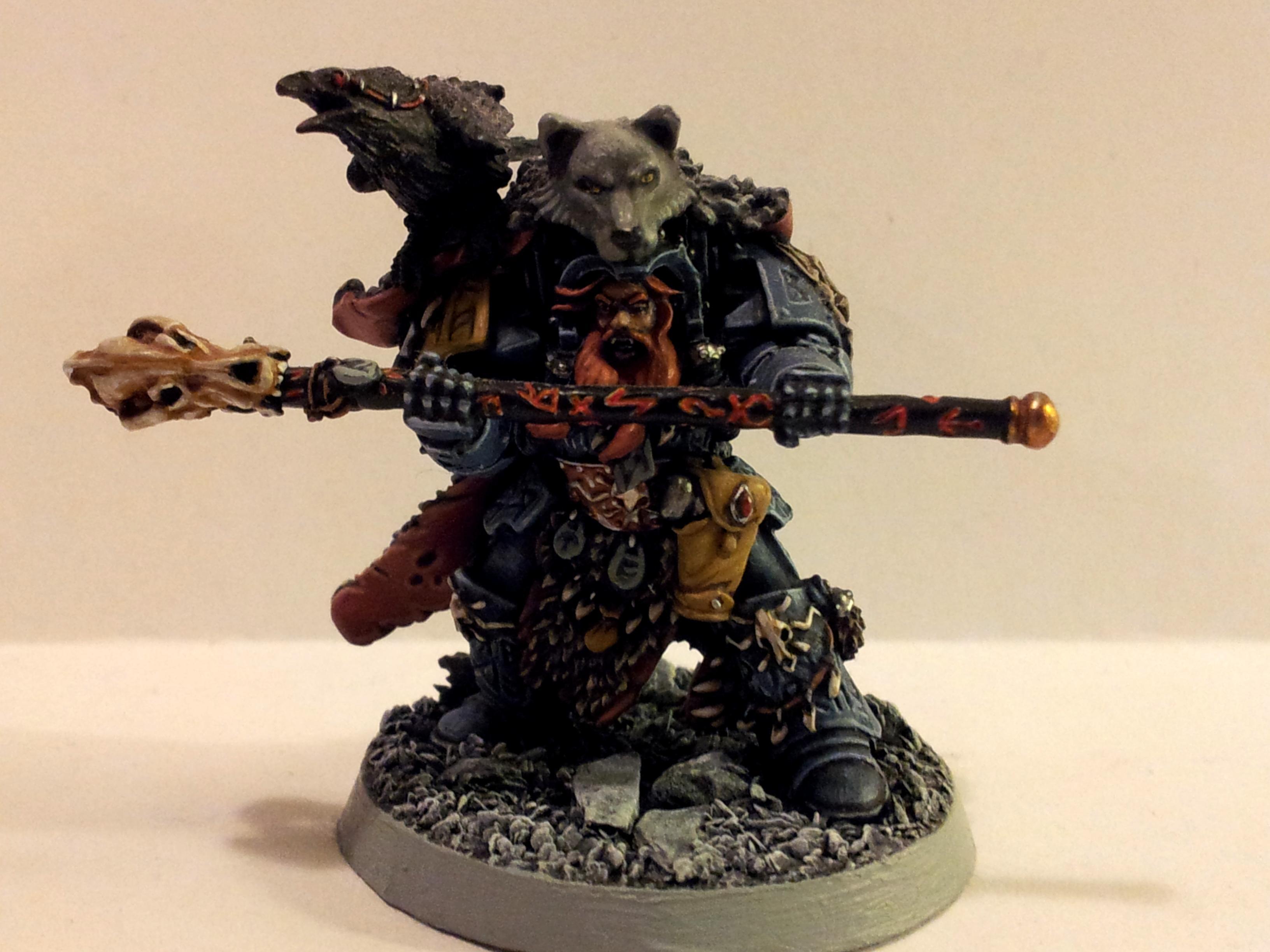 Njal Stormcaller, Rune Priest, Space Marines, Space Wolves