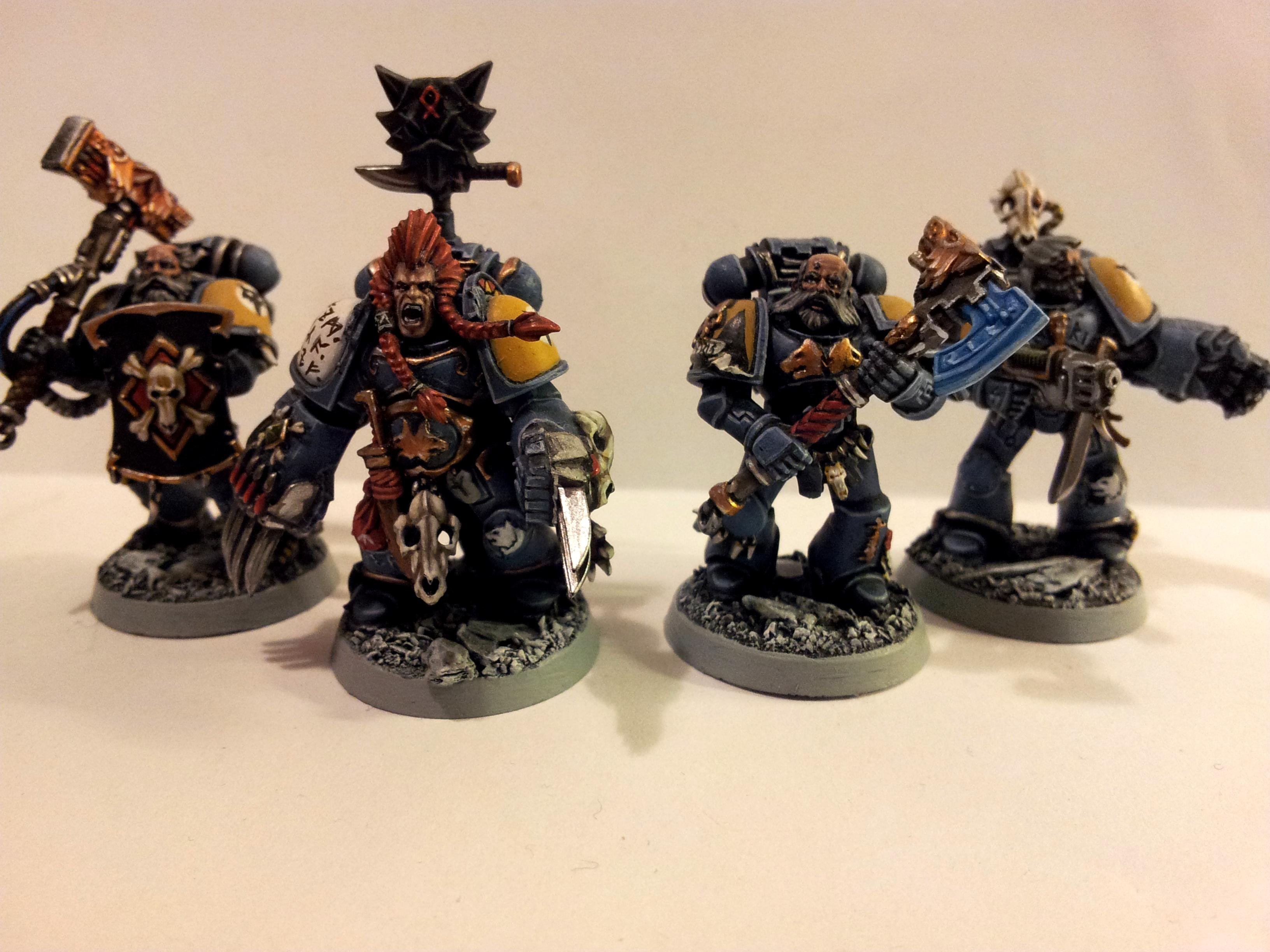 Battle Leader, Power Weapon, Space Marines, Space Wolves, Wolf Claws, Wolf Guard