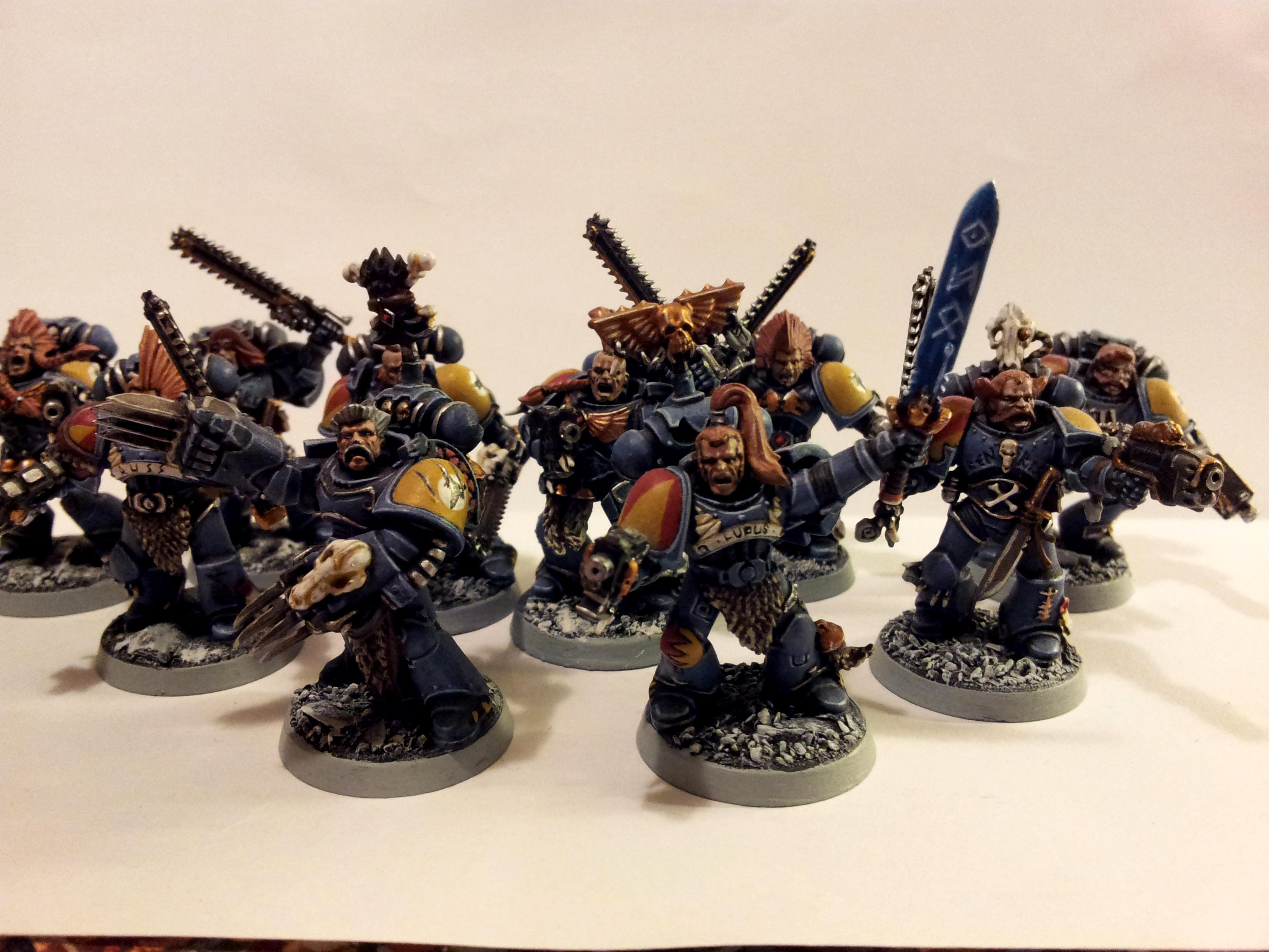 Blood Claws, Space Marines, Space Wolves